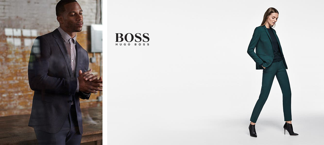 BOSS clothing for men and women.