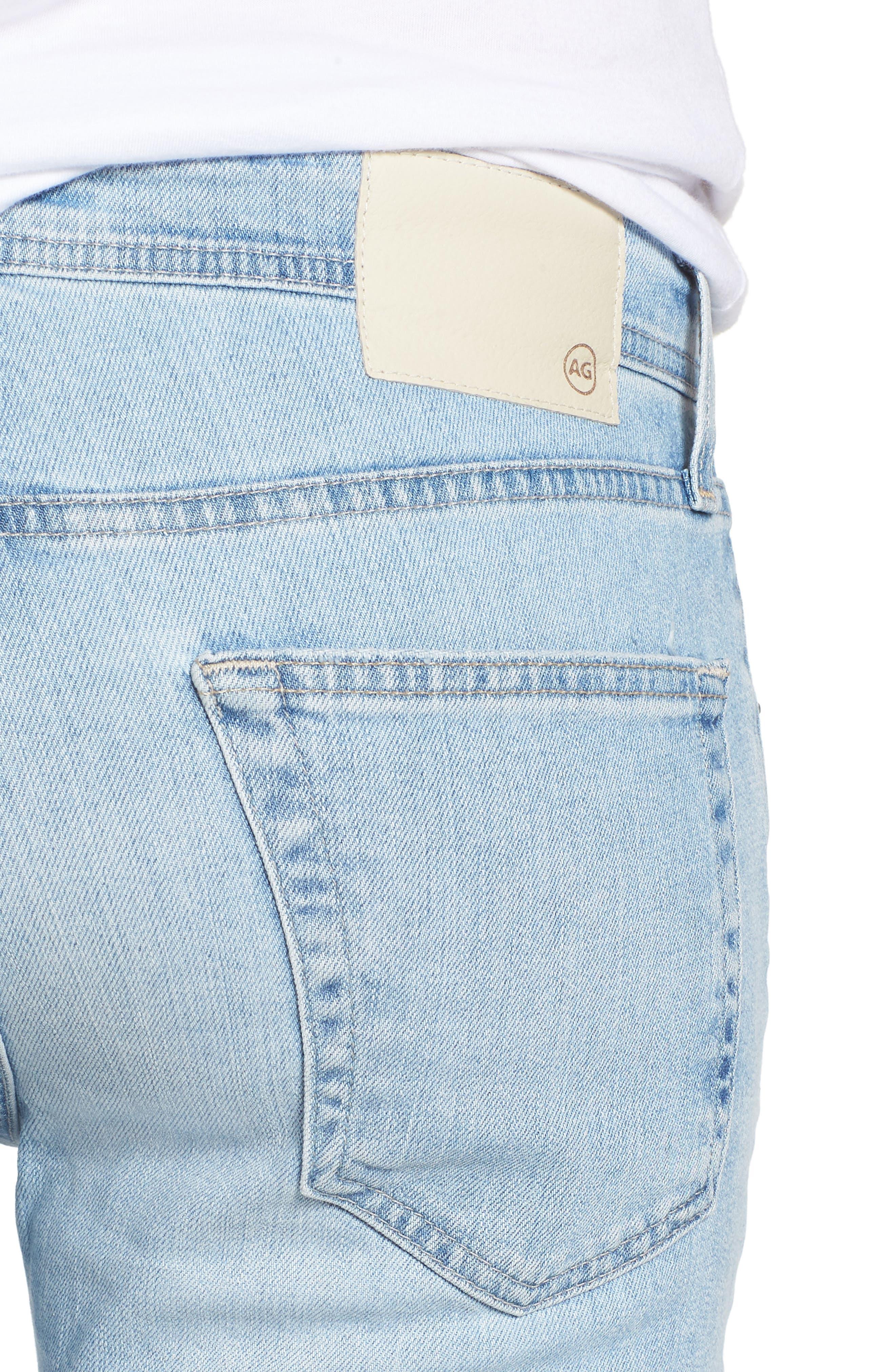 Stockton Skinny Fit Jeans,                             Alternate thumbnail 4, color,                             494