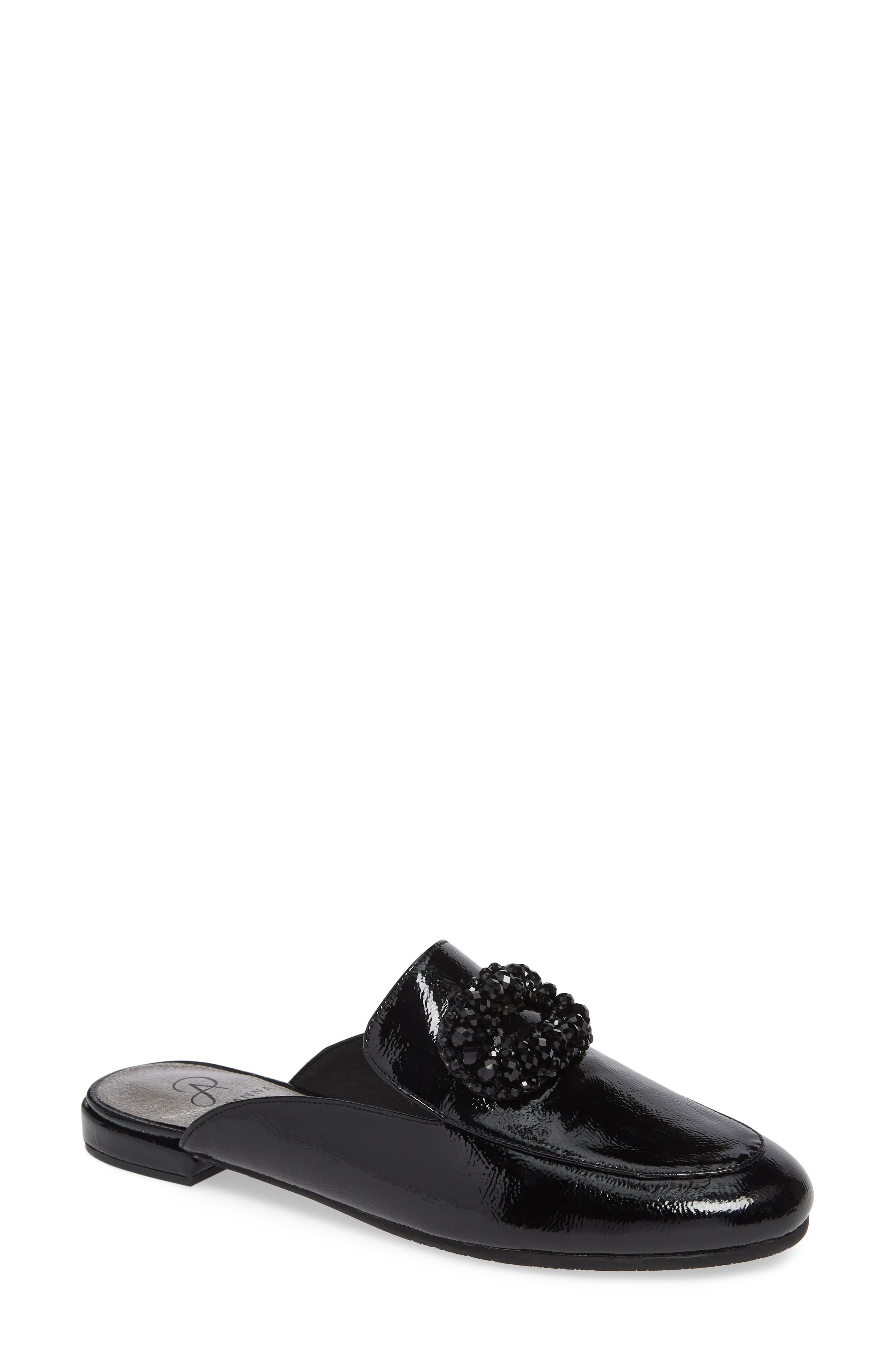 Adrianna Papell Becky Embellished Mule- Black