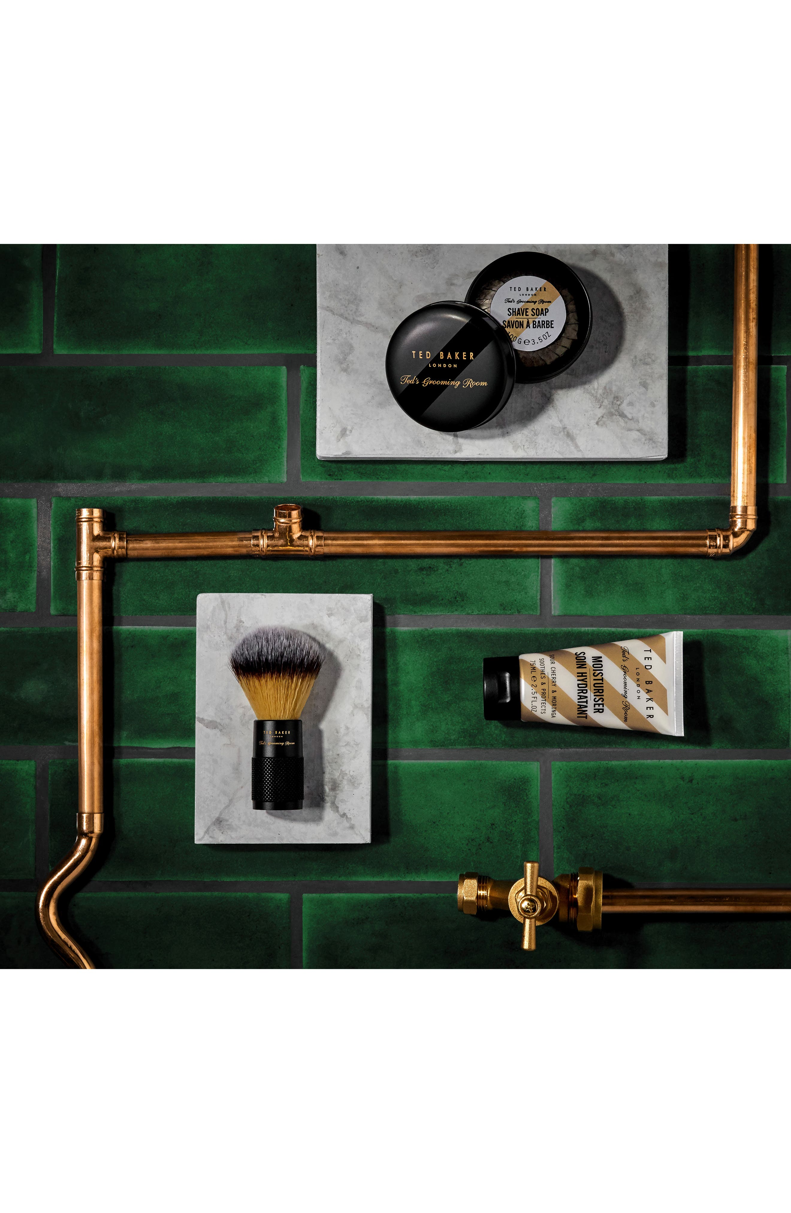 TED BAKER LONDON,                             Ted's Grooming Room Moisturizer,                             Alternate thumbnail 4, color,                             000