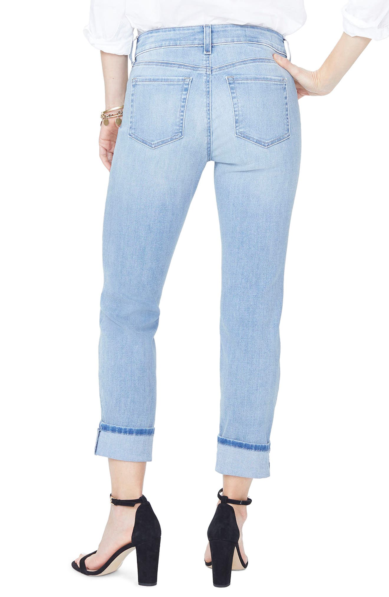 Boyfriend Jeans,                             Alternate thumbnail 2, color,                             418