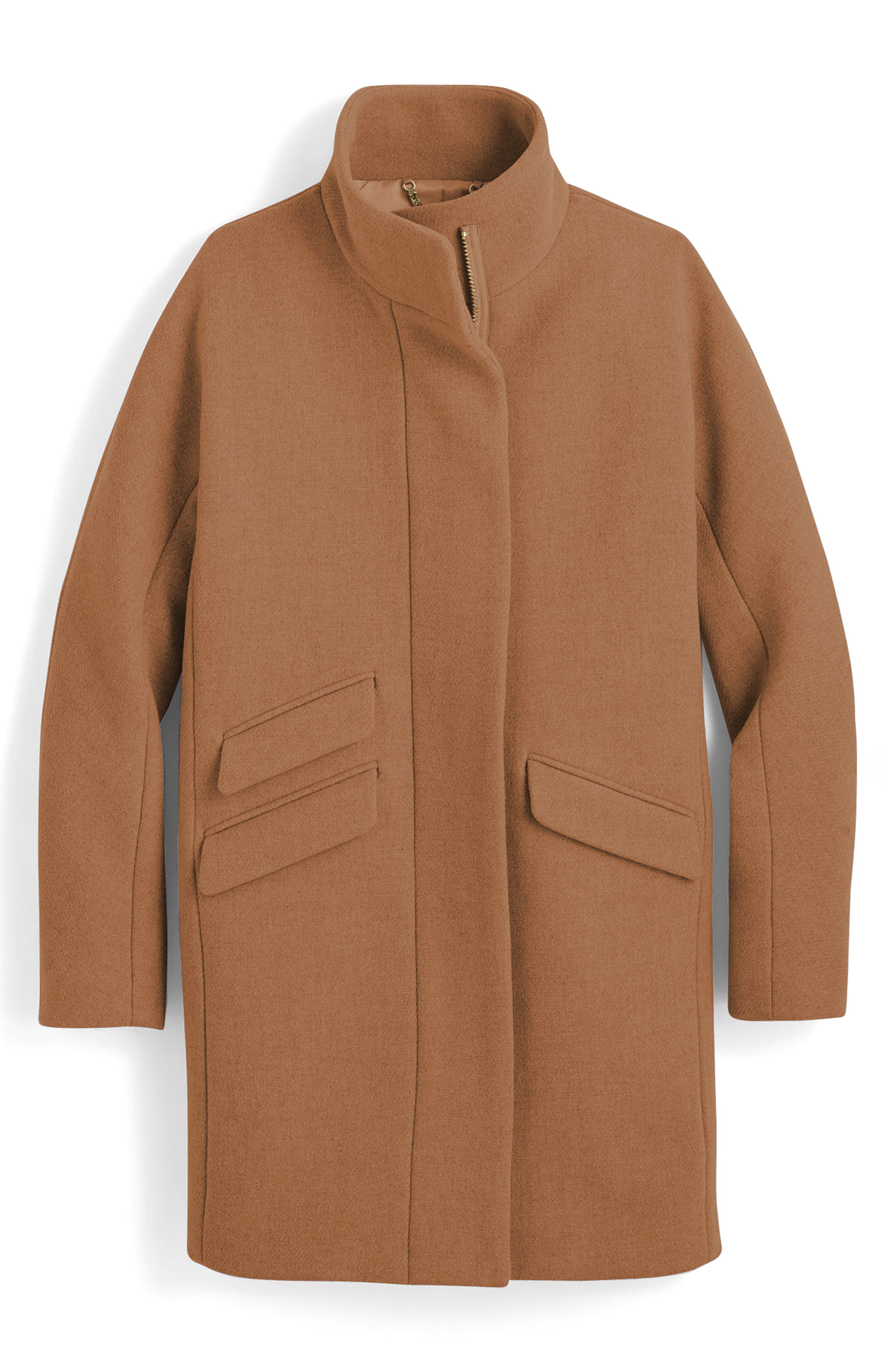 Stadium Cloth Cocoon Coat,                             Main thumbnail 2, color,