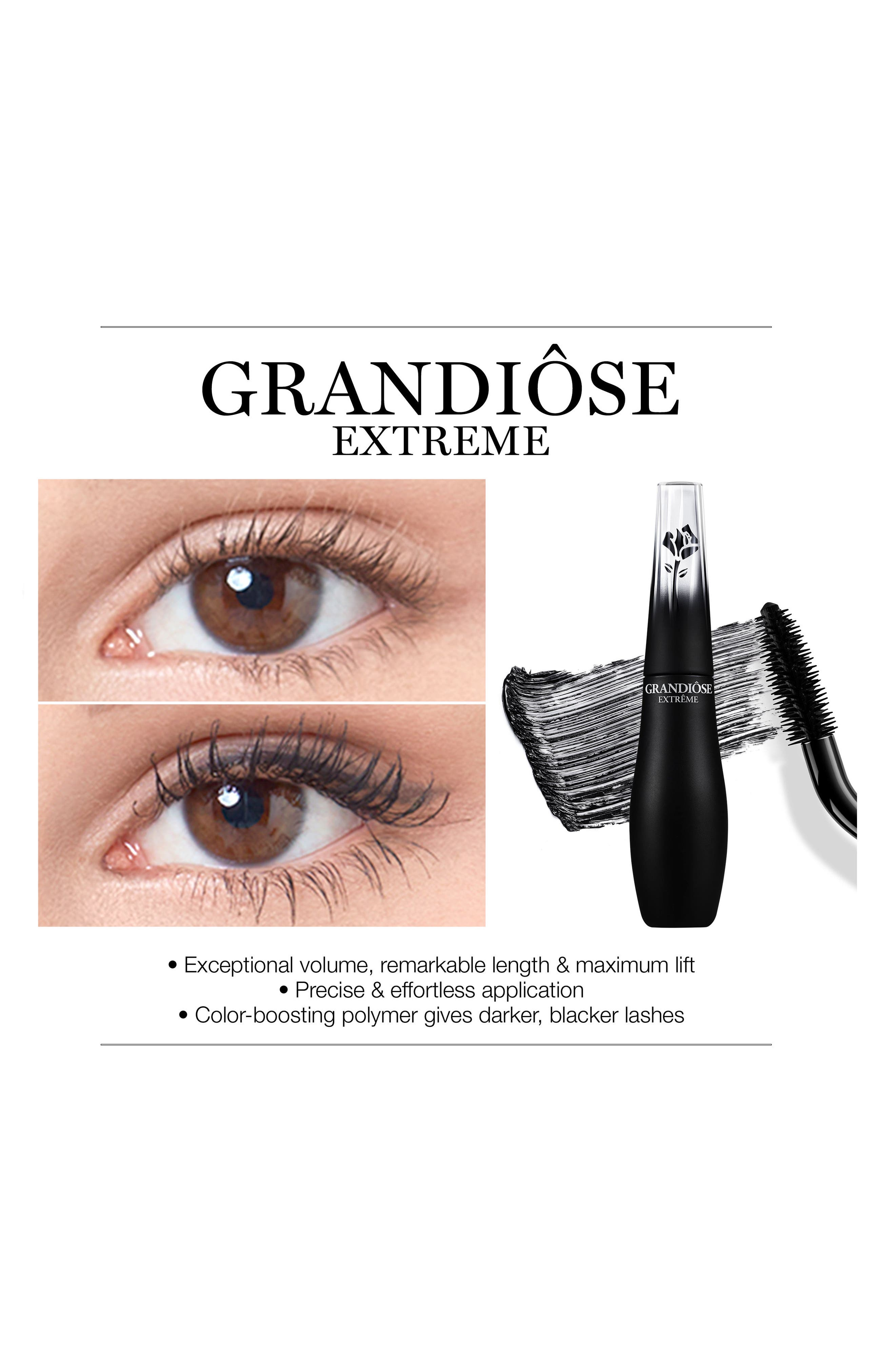 Grandiôse Extrême Mascara,                             Alternate thumbnail 2, color,                             BLACK