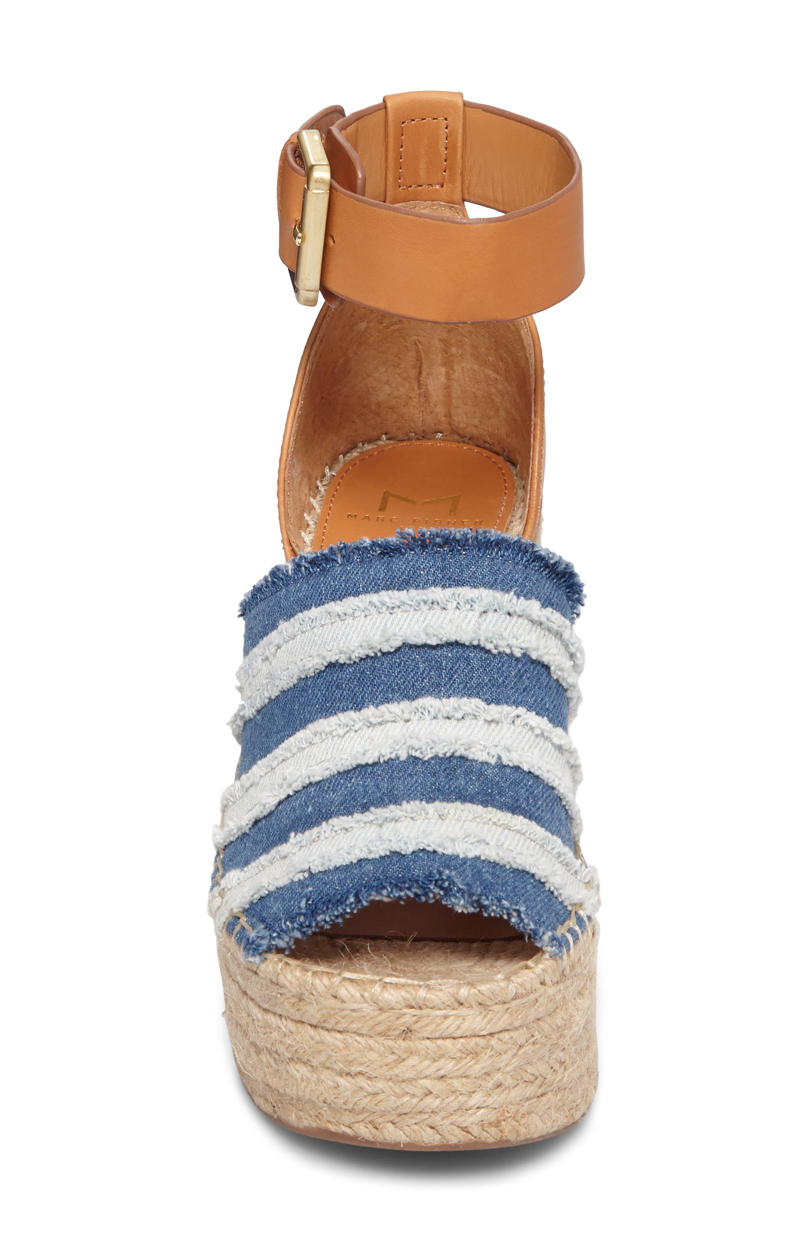 Adria Wedge Sandal,                             Alternate thumbnail 4, color,