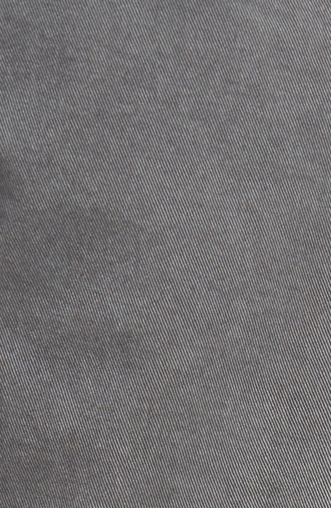 Lennox Slim Fit Five-Pocket Pants,                             Alternate thumbnail 5, color,                             VINTAGE THUNDER GREY