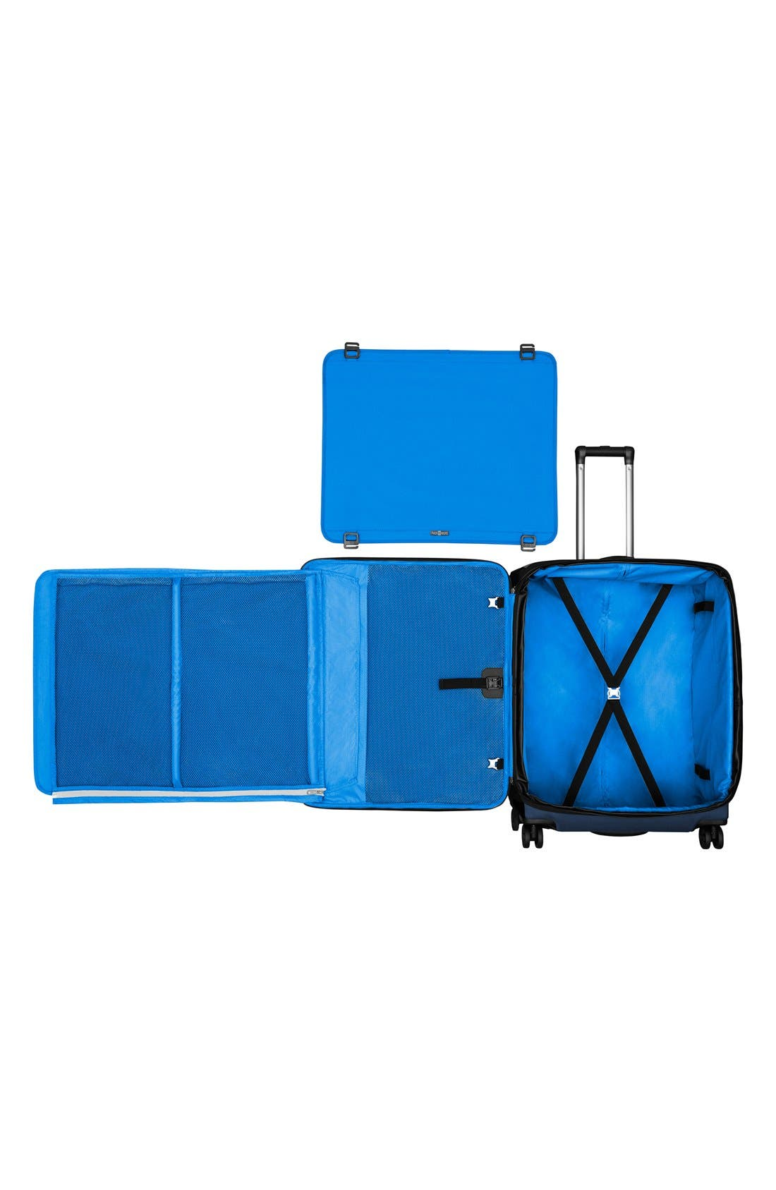 WT 5.0 Dual Caster Wheeled 27-Inch Packing Case,                             Alternate thumbnail 4, color,                             420