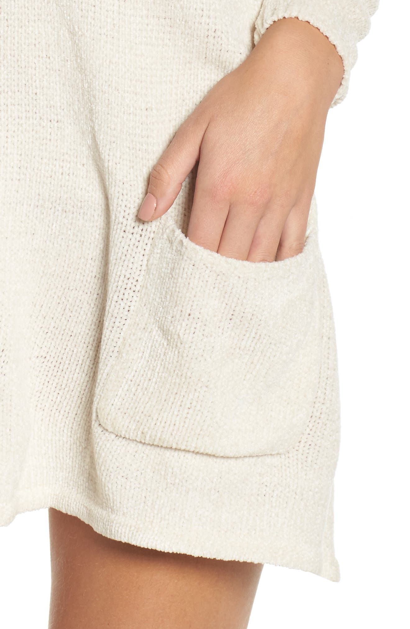 Beverly Sweater Dress,                             Alternate thumbnail 4, color,                             260