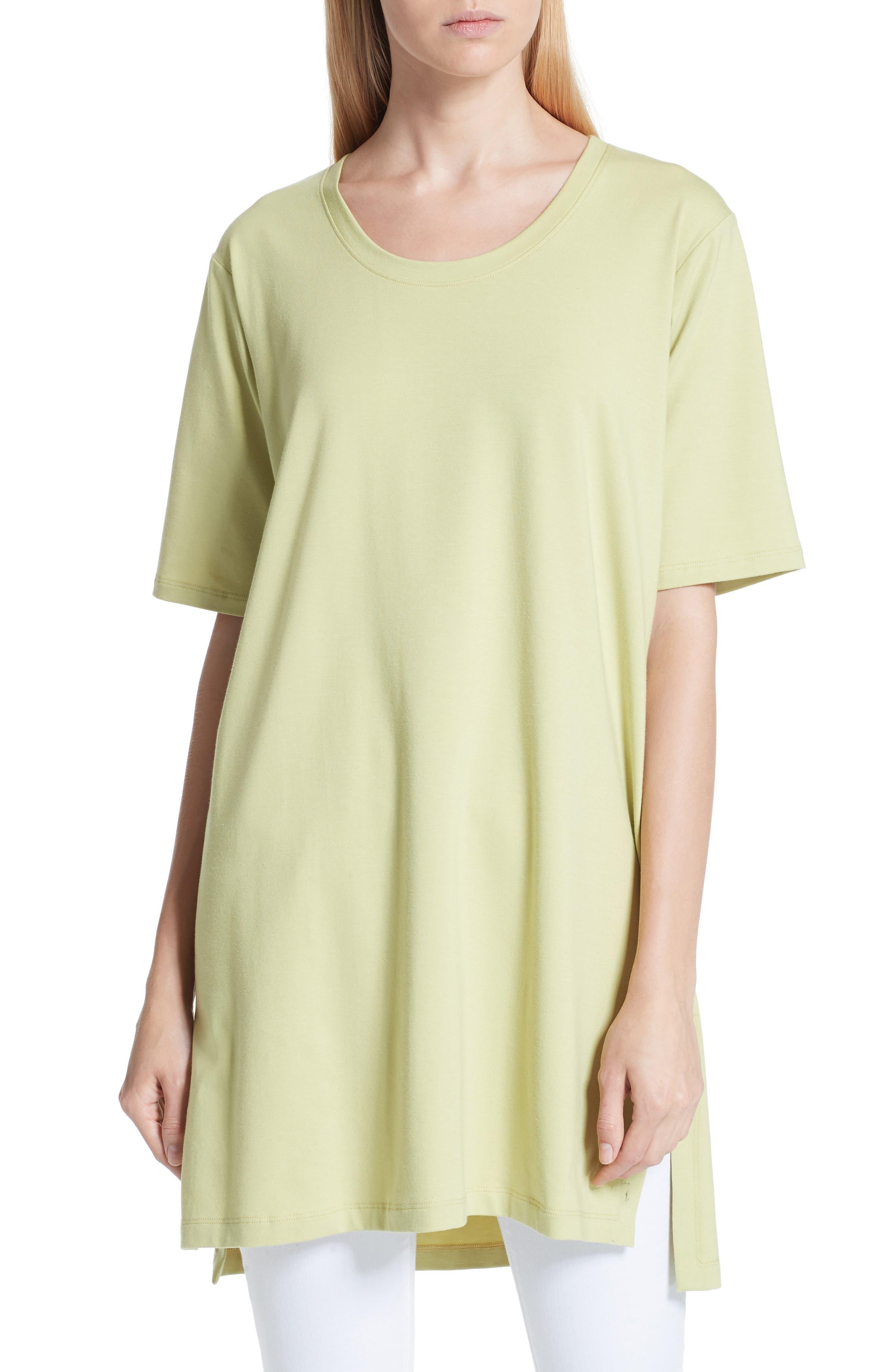 Stretch Organic Cotton Jersey Tunic,                             Main thumbnail 1, color,