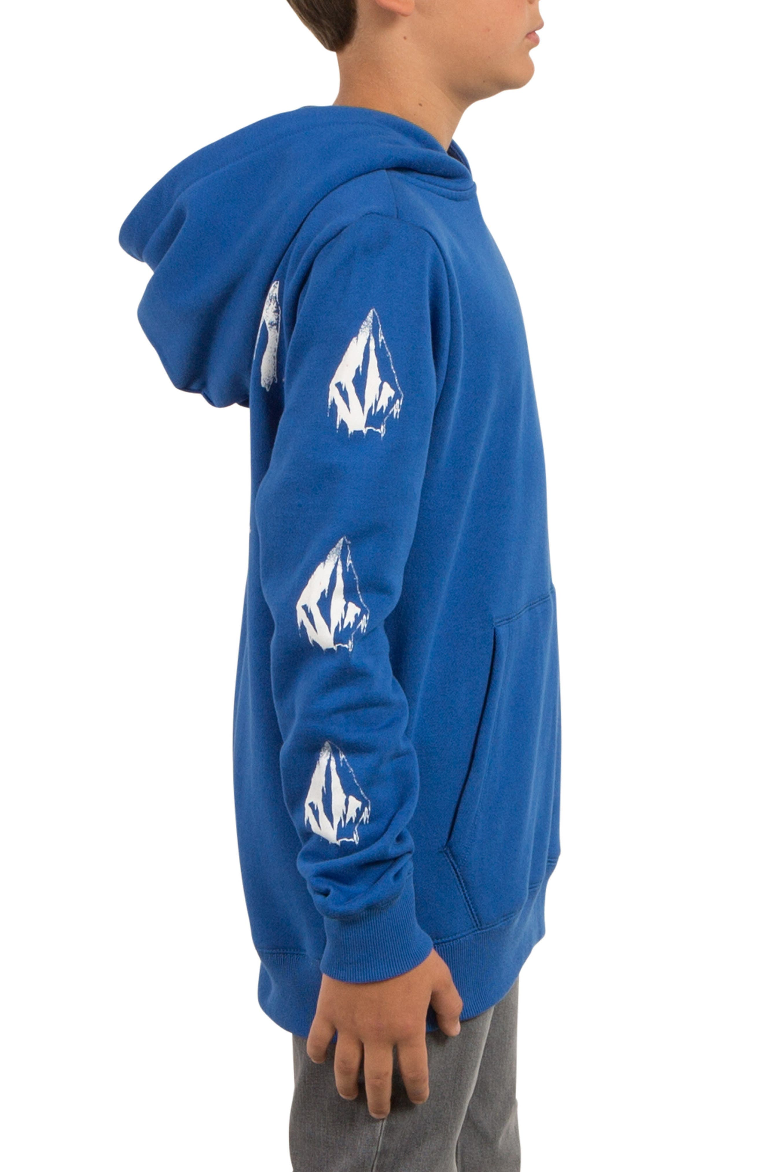 Supply Stone Graphic Pullover Hoodie,                             Alternate thumbnail 13, color,