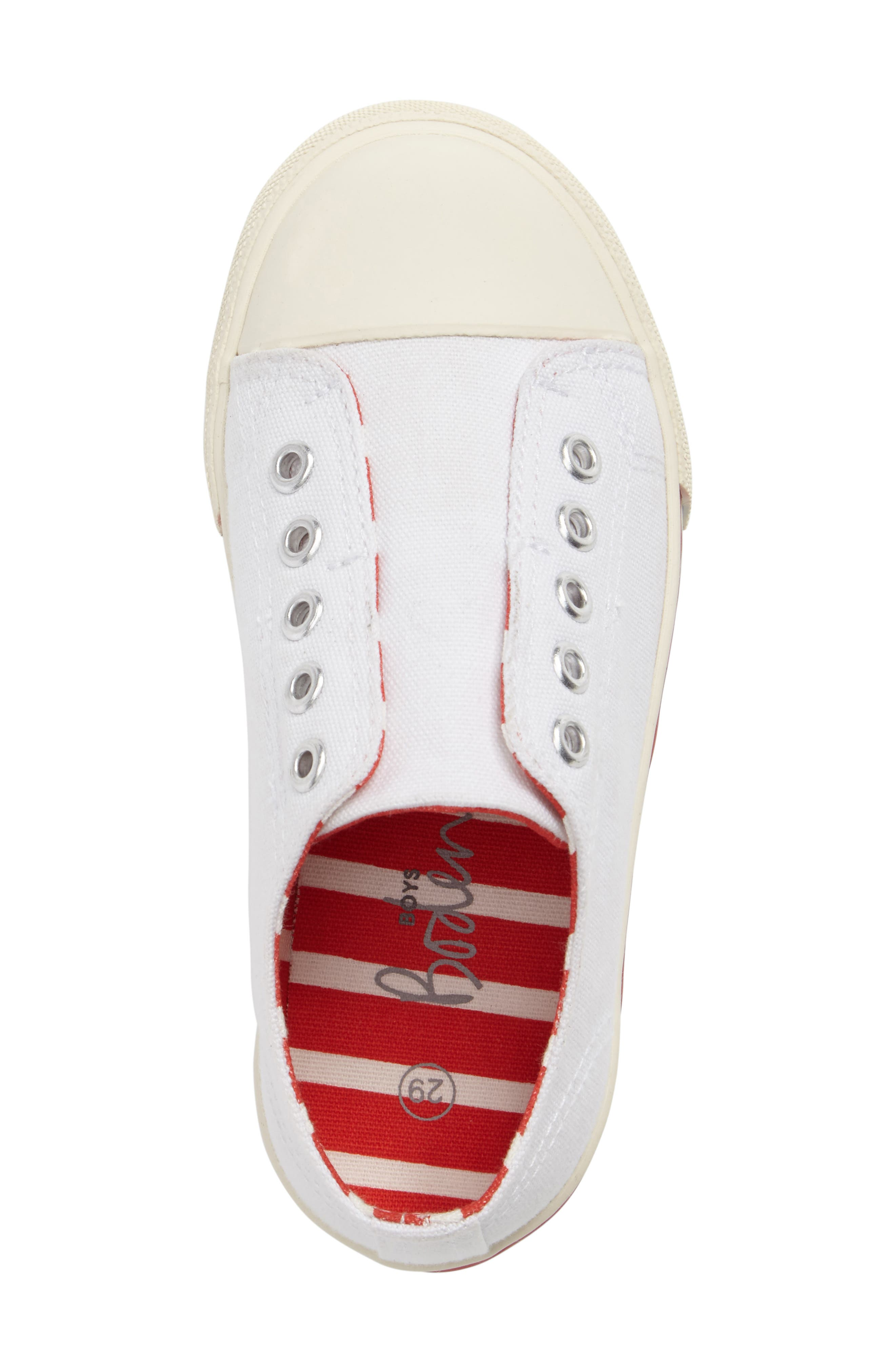 Laceless Sneaker,                             Alternate thumbnail 5, color,                             100