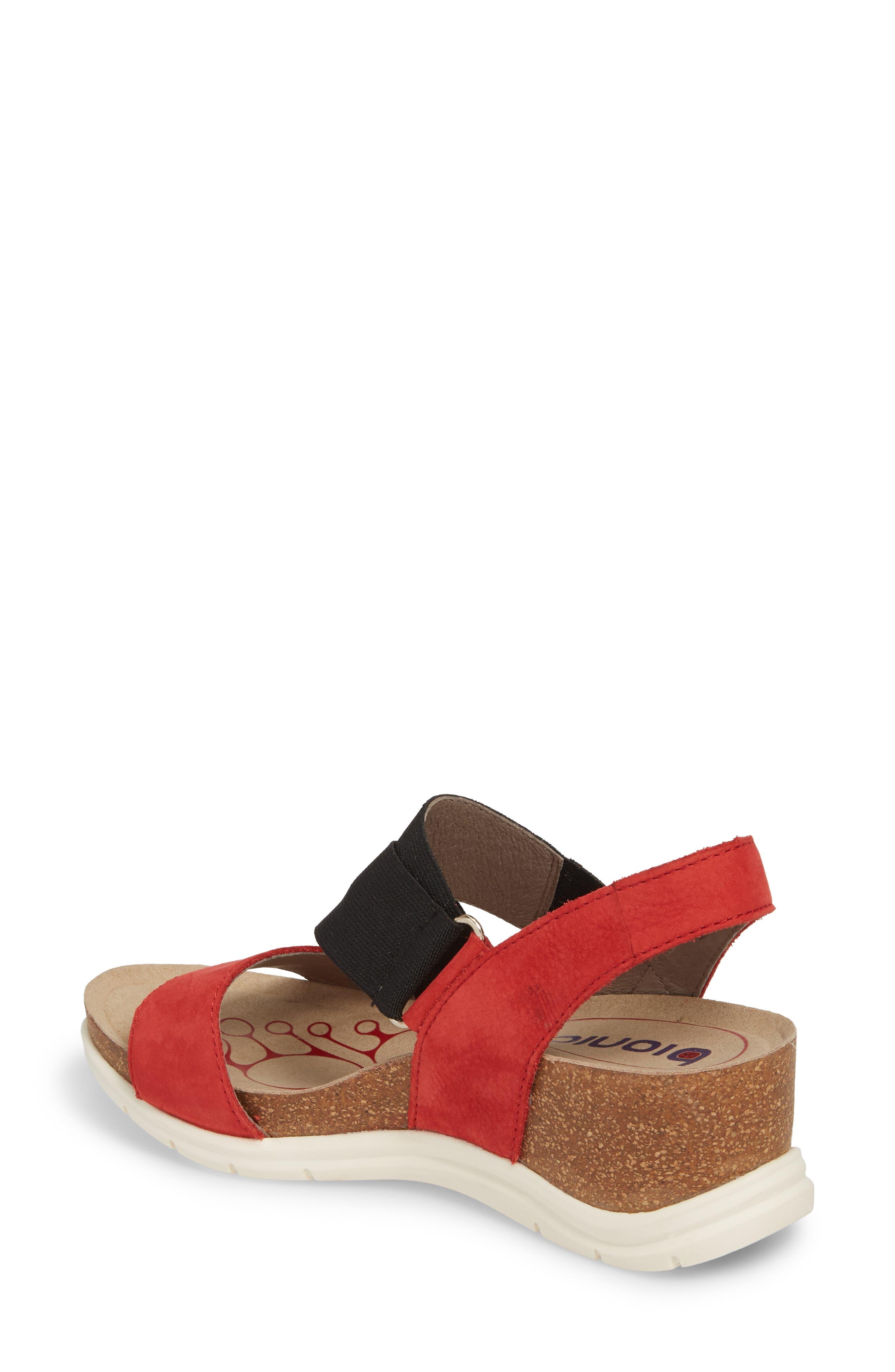 Paisley Wedge Sandal,                             Alternate thumbnail 8, color,