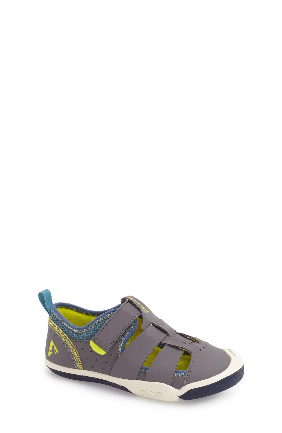 Sam Customizable Sneaker,                             Main thumbnail 1, color,                             STEEL