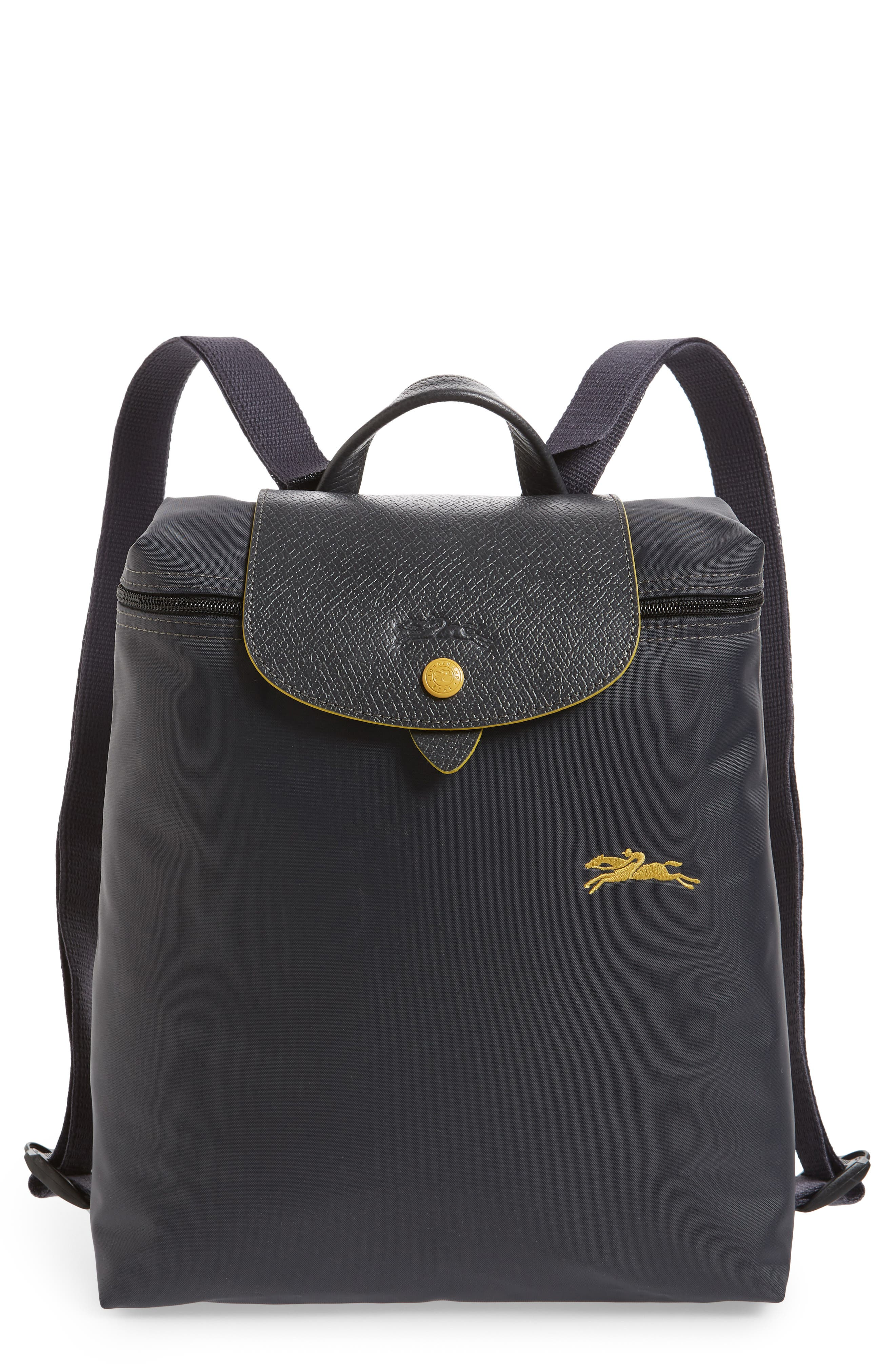 Le Pliage Club Backpack,                         Main,                         color, GUNMETAL