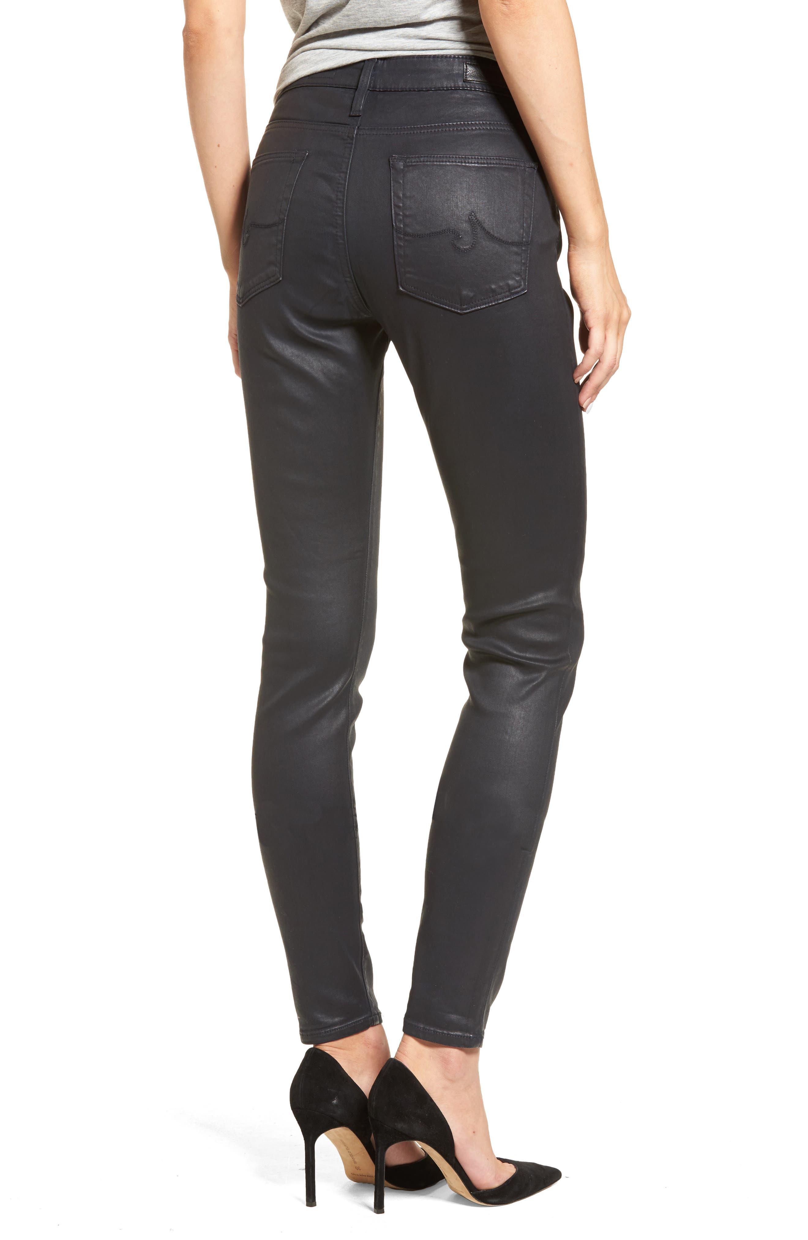 The Farrah High Rise Skinny Jeans,                             Alternate thumbnail 6, color,