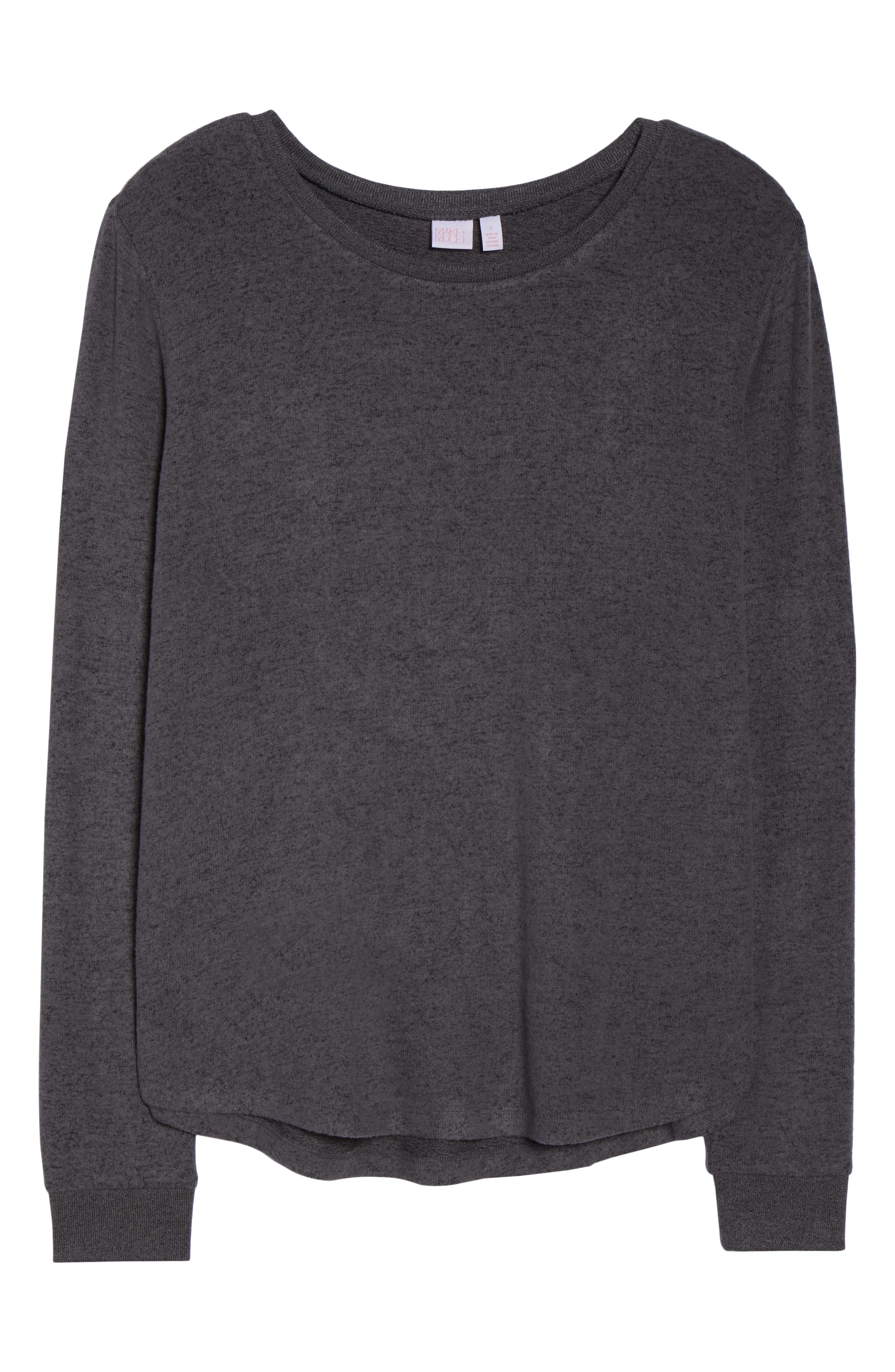 Too Cool Pullover,                             Alternate thumbnail 6, color,                             GREY PAVEMENT MARL