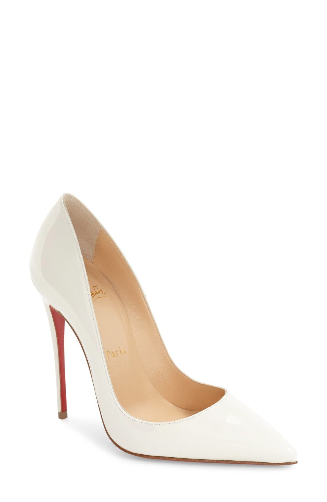 So Kate Pointy Toe Pump, Main, color, 100