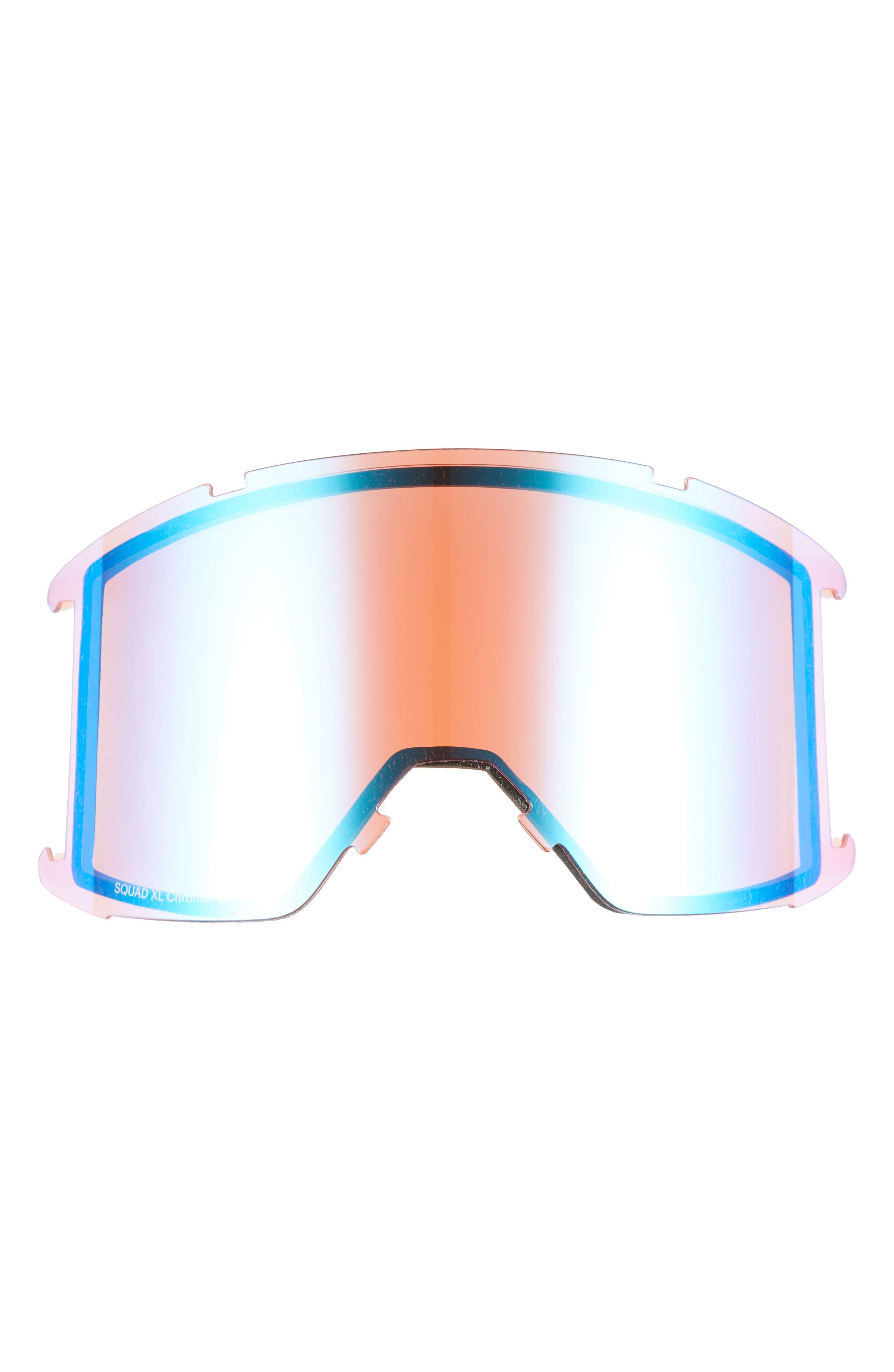 Squad XL Chromapop 185mm Snow Goggles,                             Alternate thumbnail 3, color,                             MOSS SURPLUS