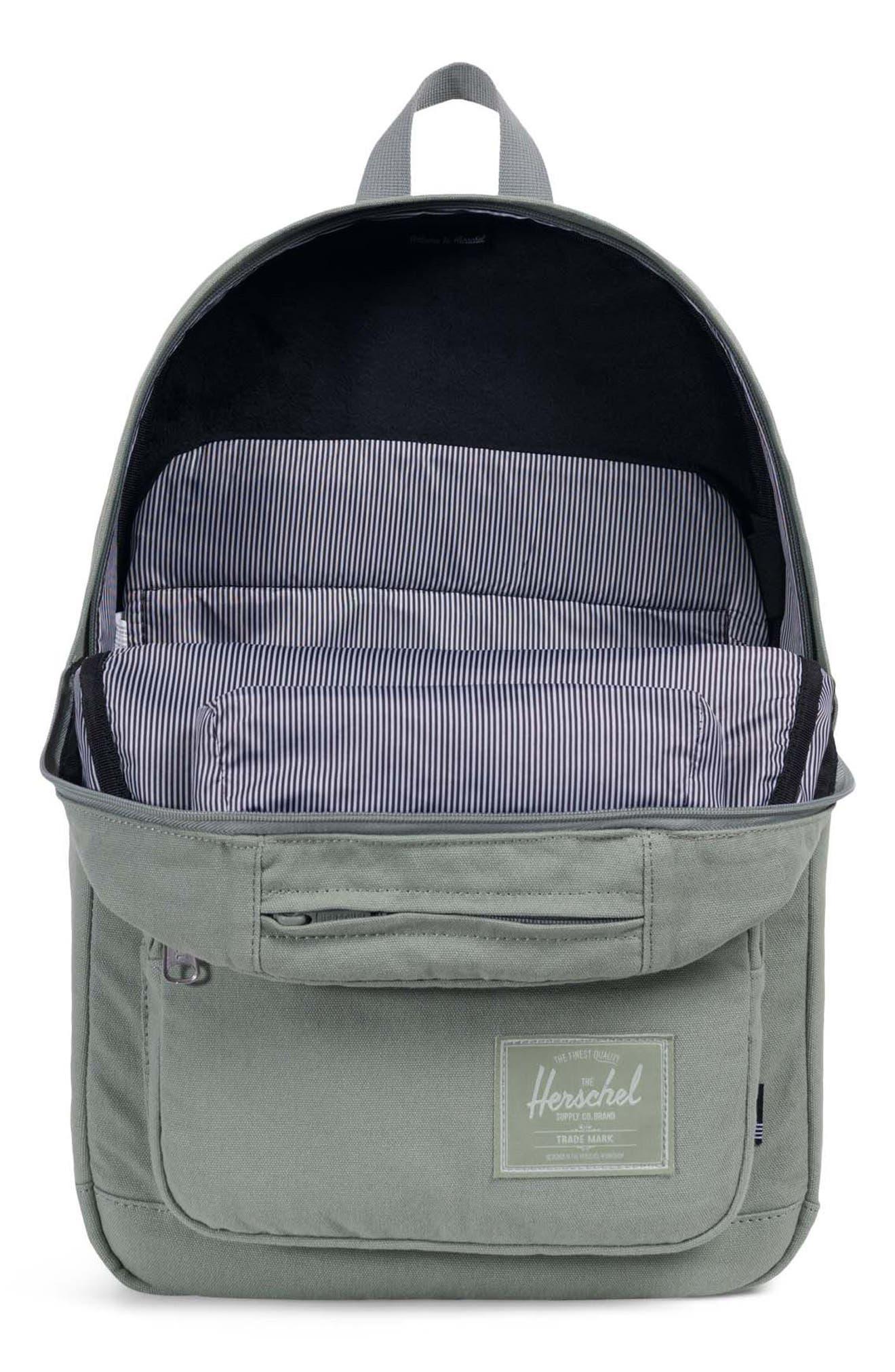 Pop Quiz Canvas Backpack,                             Alternate thumbnail 3, color,