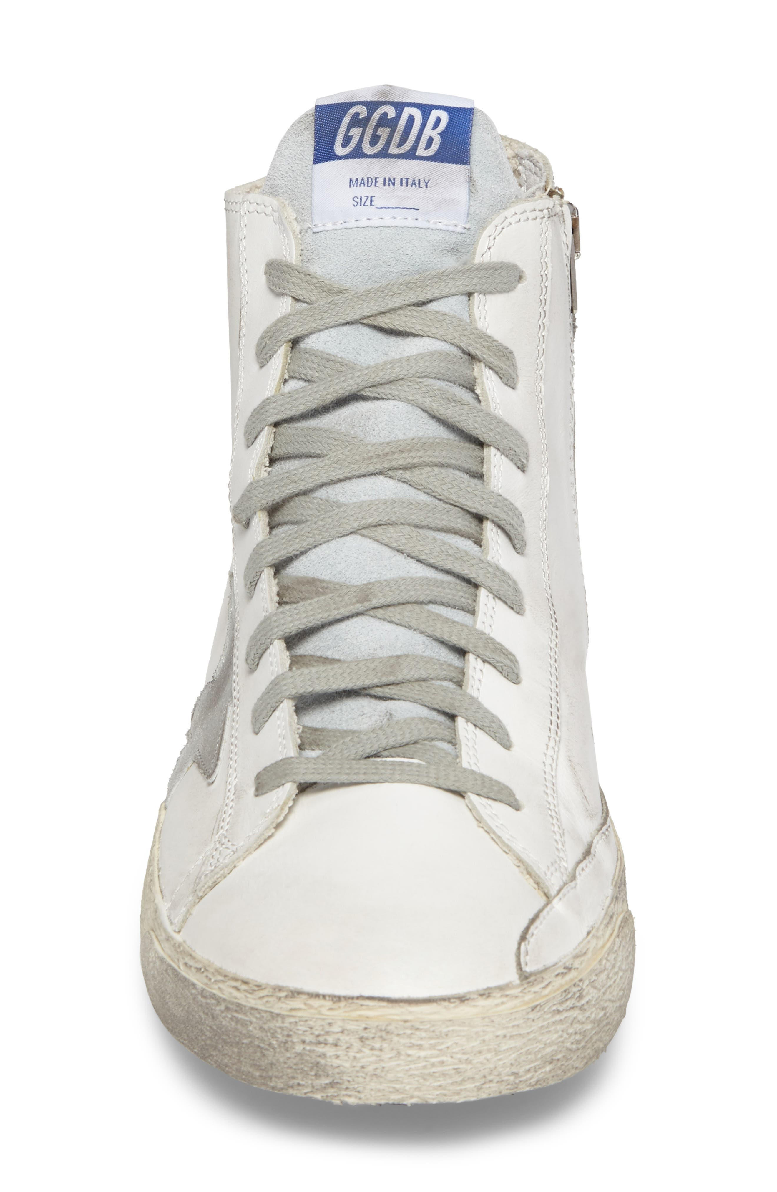 Francy High Top Sneaker,                             Alternate thumbnail 4, color,                             100