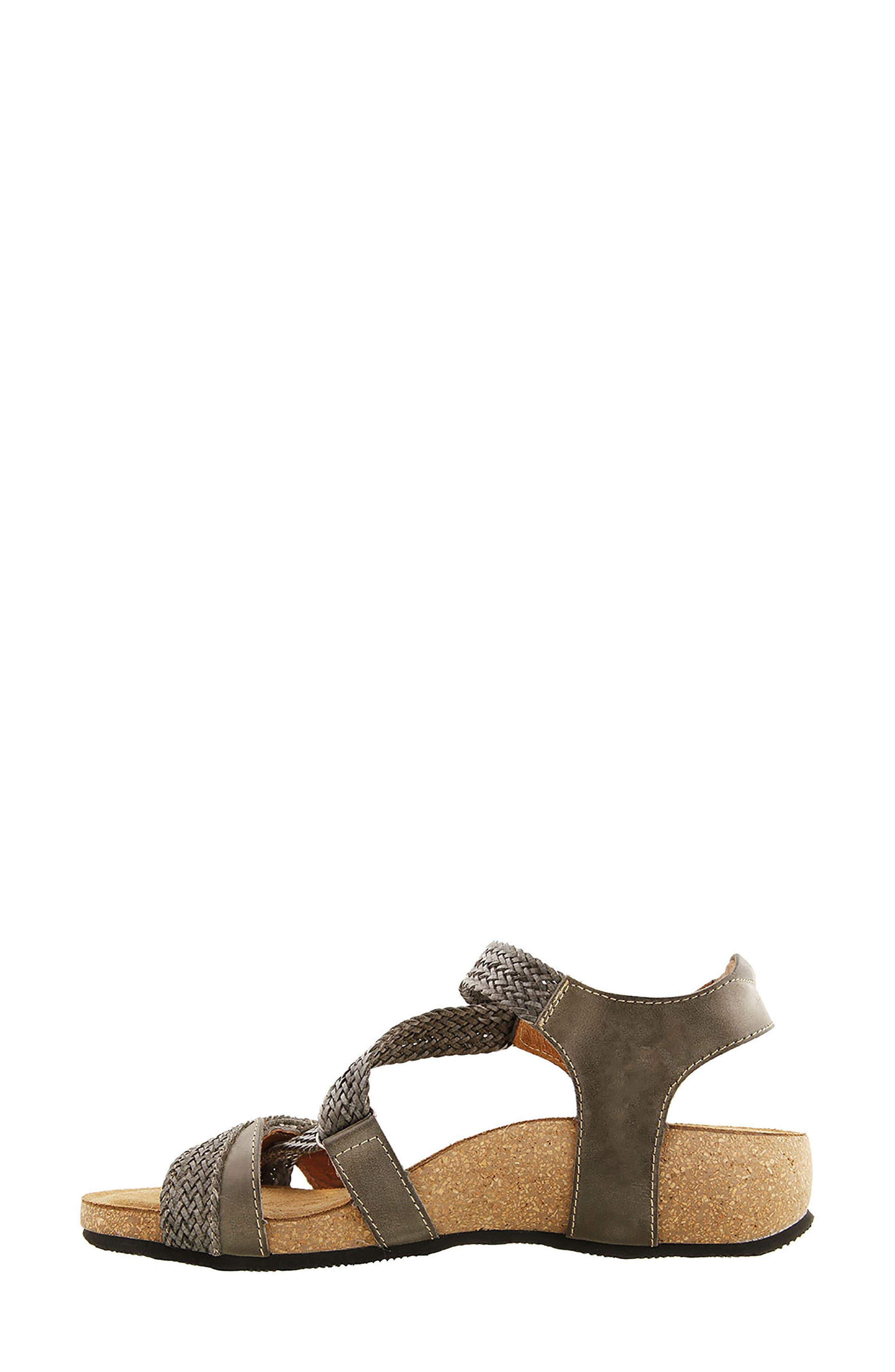 TAOS,                             'Trulie' Wedge Sandal,                             Alternate thumbnail 3, color,                             022