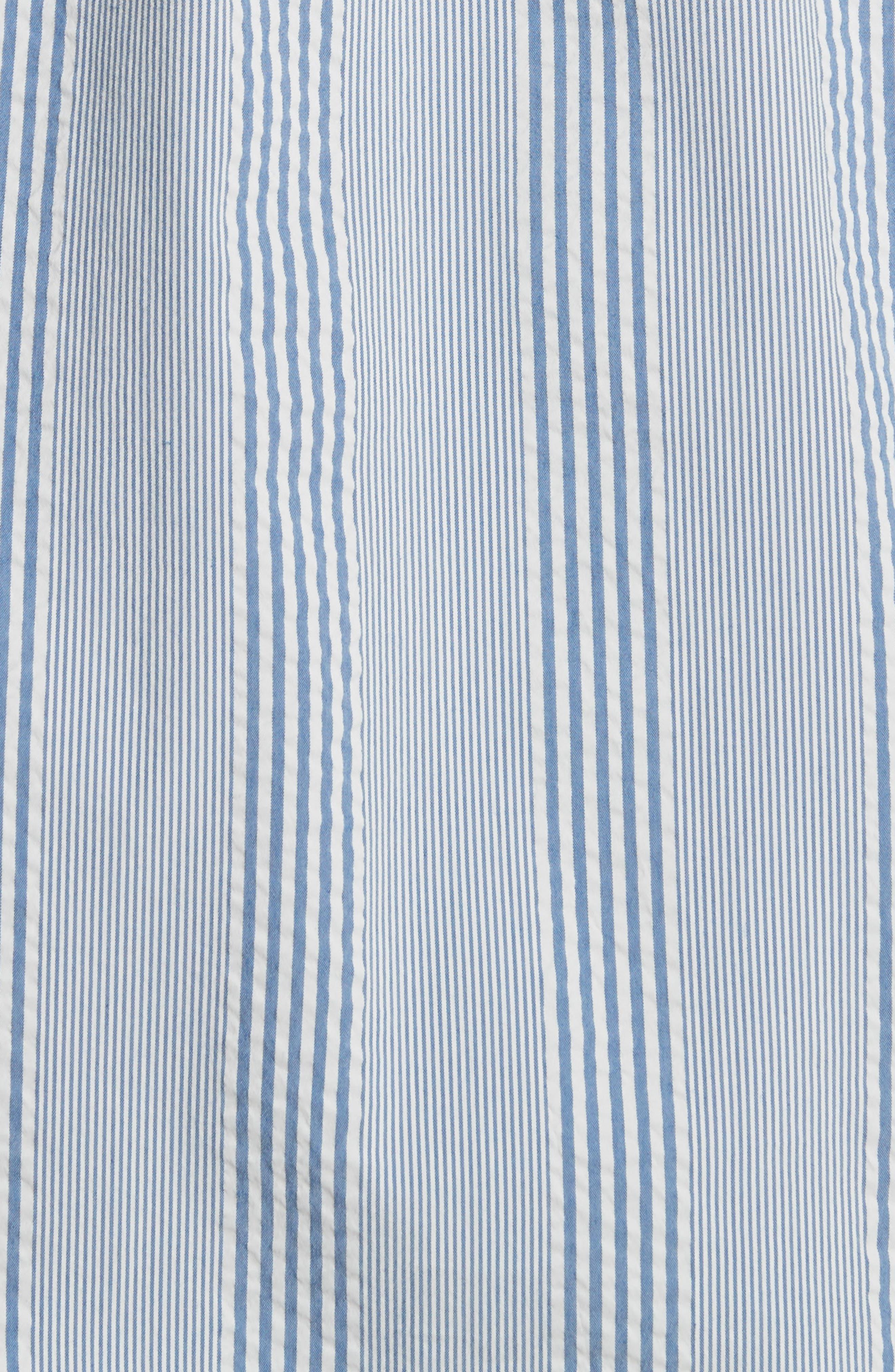 Osvald Seersucker Shirt,                             Alternate thumbnail 5, color,                             460