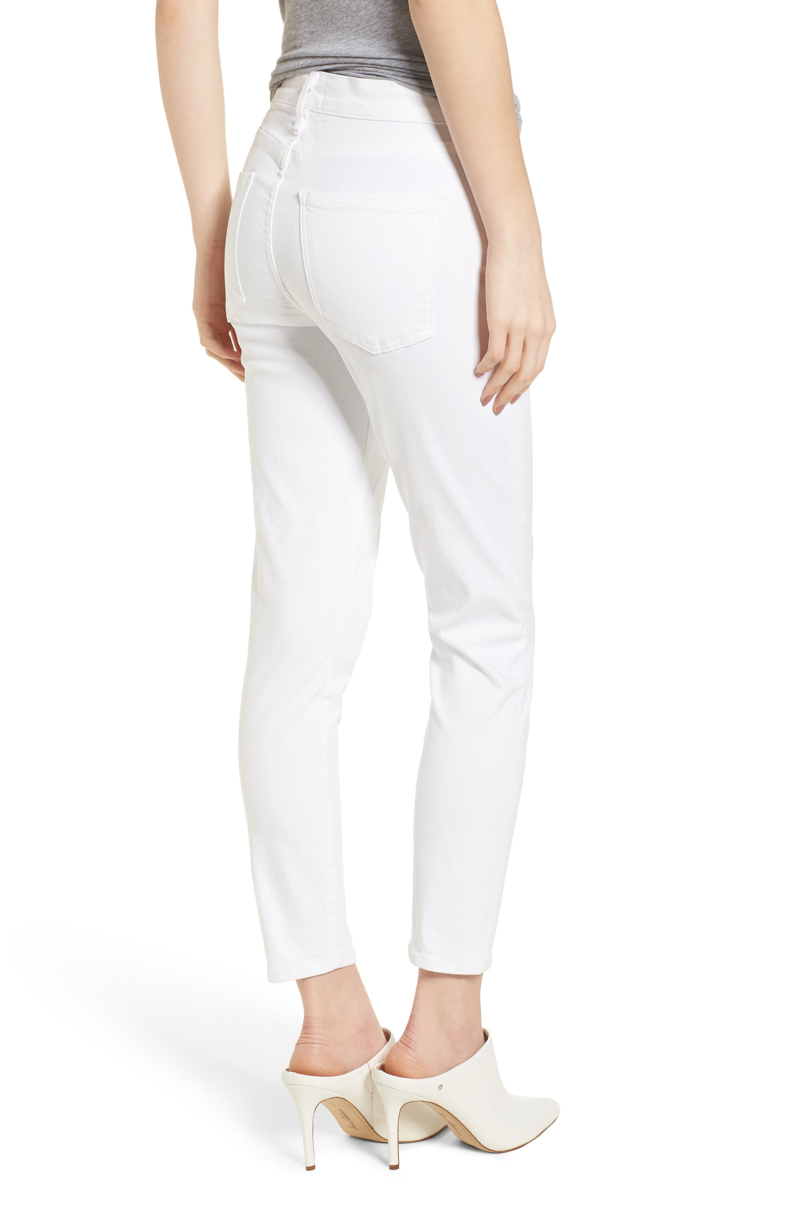 Sophie High Waist Ankle Skinny Jeans,                             Alternate thumbnail 2, color,                             VIXEN