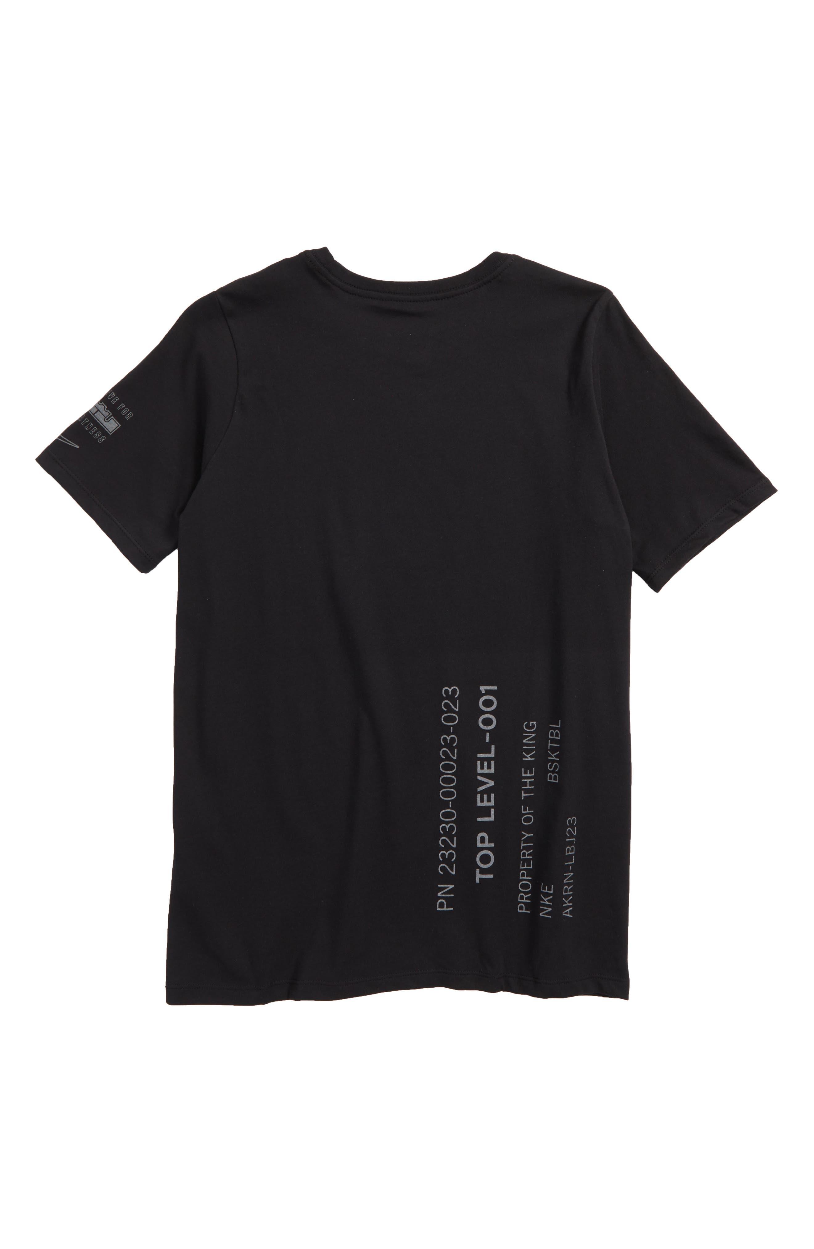Dry Dark 23 Graphic T-Shirt,                             Alternate thumbnail 2, color,                             010