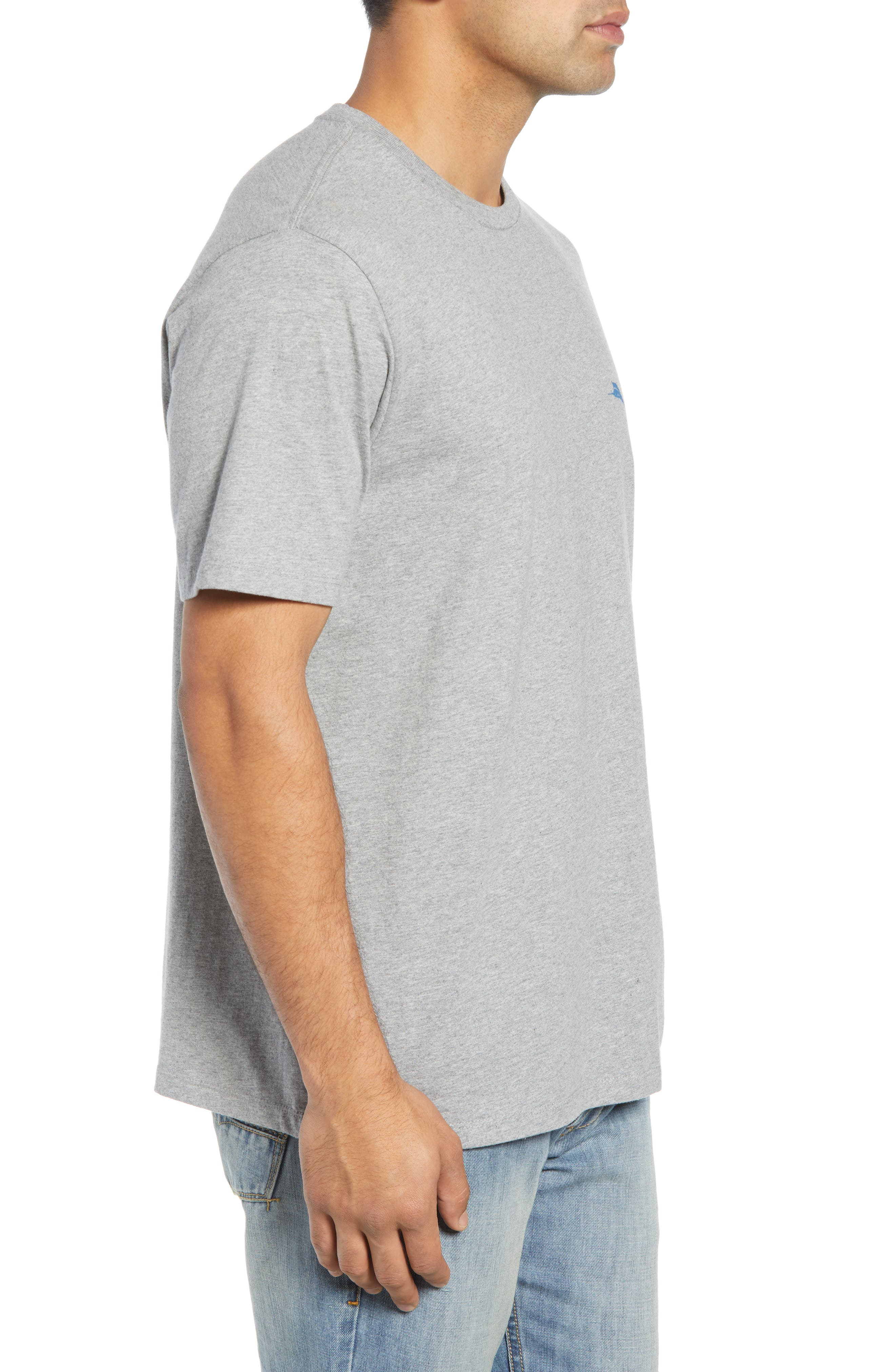 The Struggle is Reel T-Shirt,                             Alternate thumbnail 3, color,                             GREY HEATHER