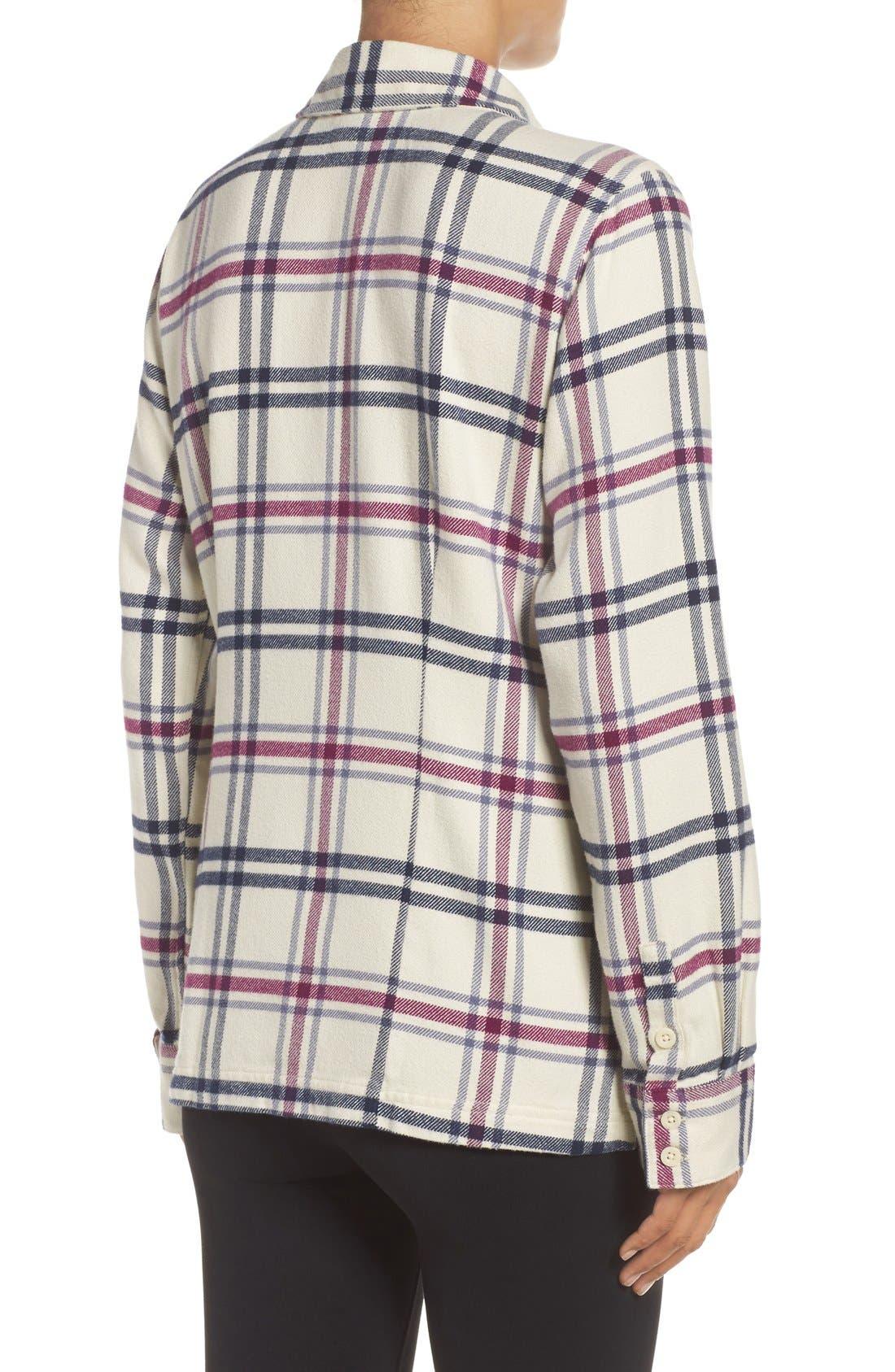 'Fjord' Flannel Shirt,                             Alternate thumbnail 91, color,