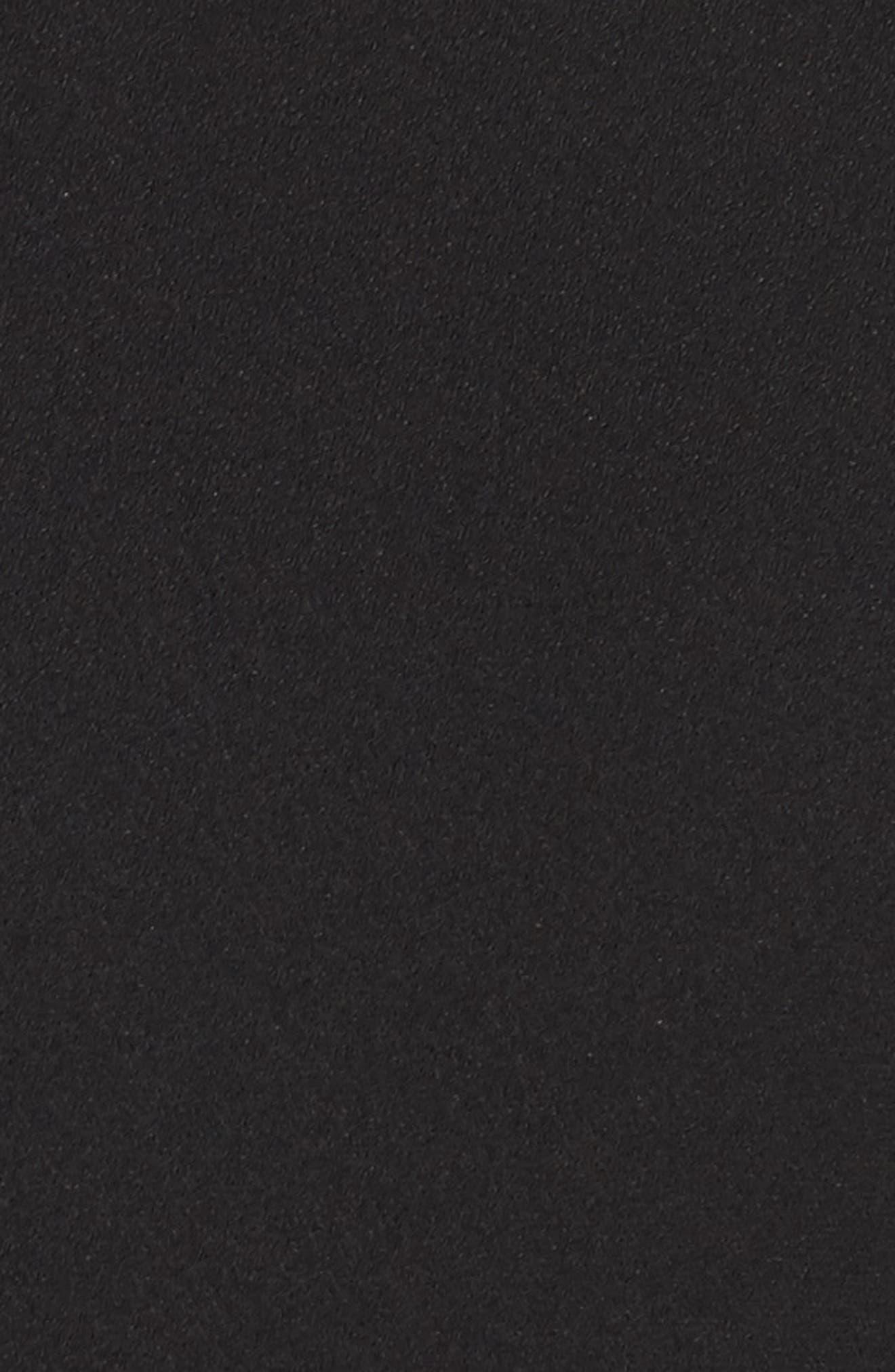 19 COOPER,                             Ruffle Crepe Minidress,                             Alternate thumbnail 5, color,                             001