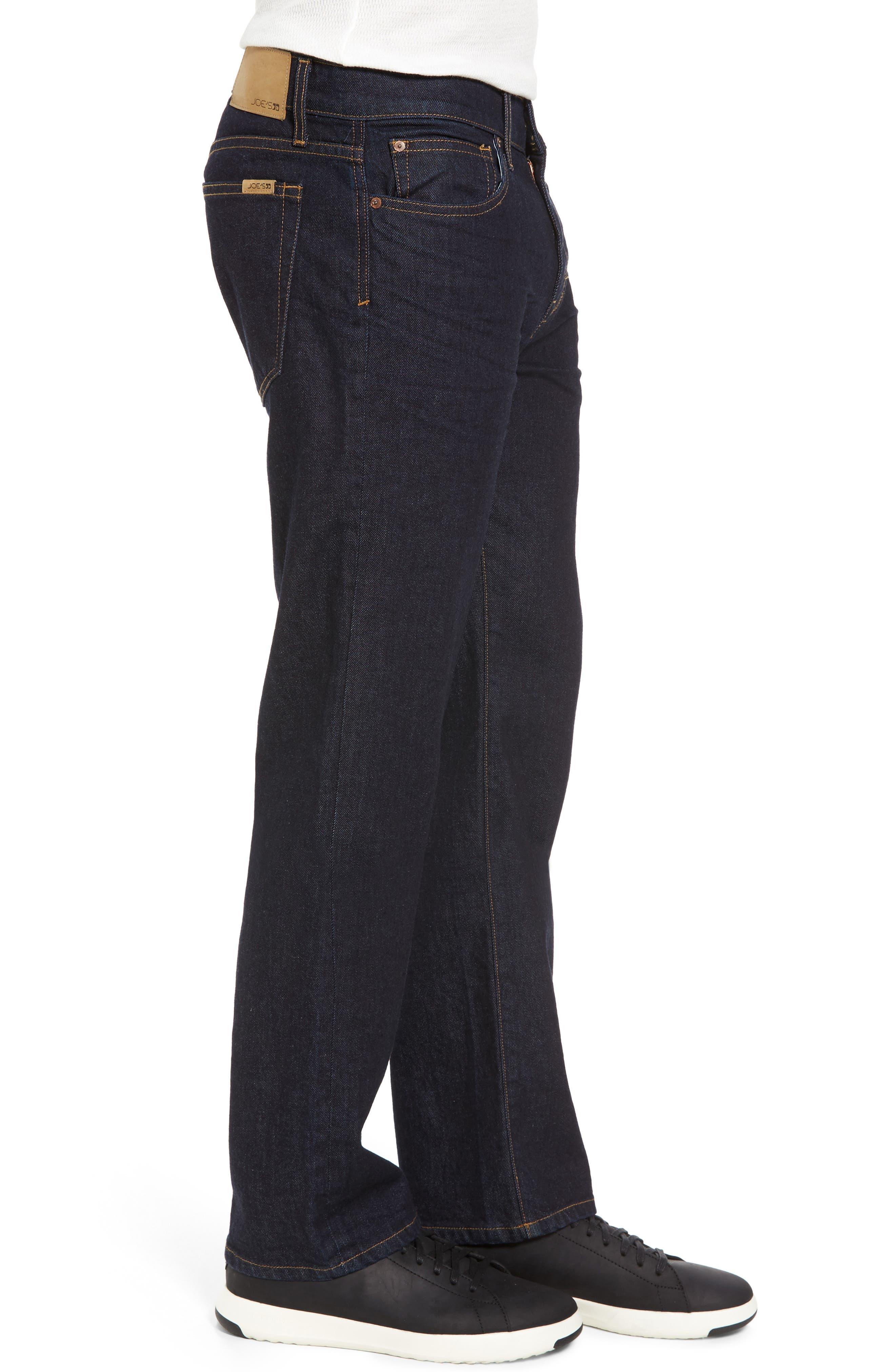 Brixton Slim Straight Leg Jeans,                             Alternate thumbnail 3, color,                             400