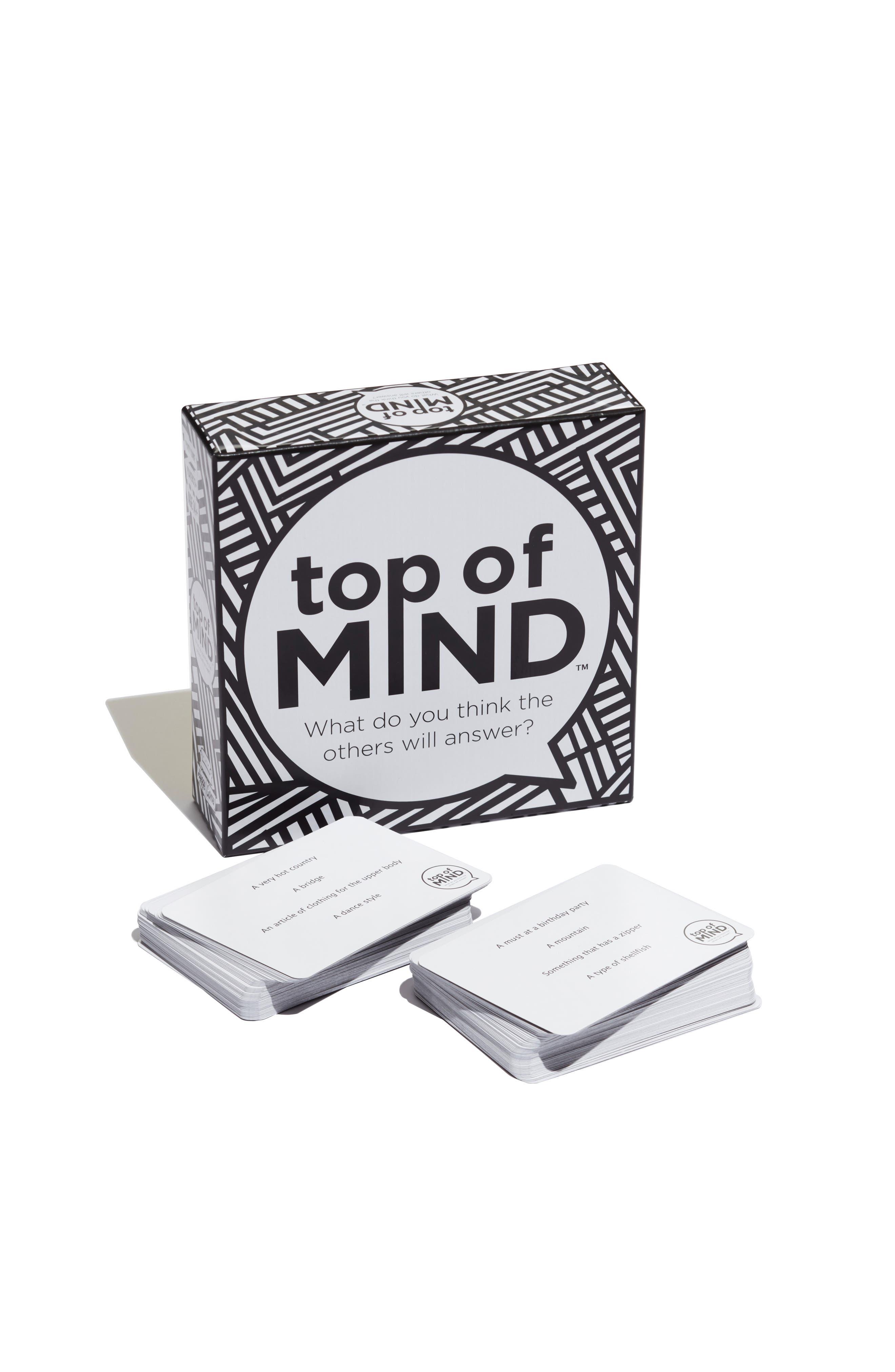 Top of Mind Trivia Game,                             Main thumbnail 1, color,                             001