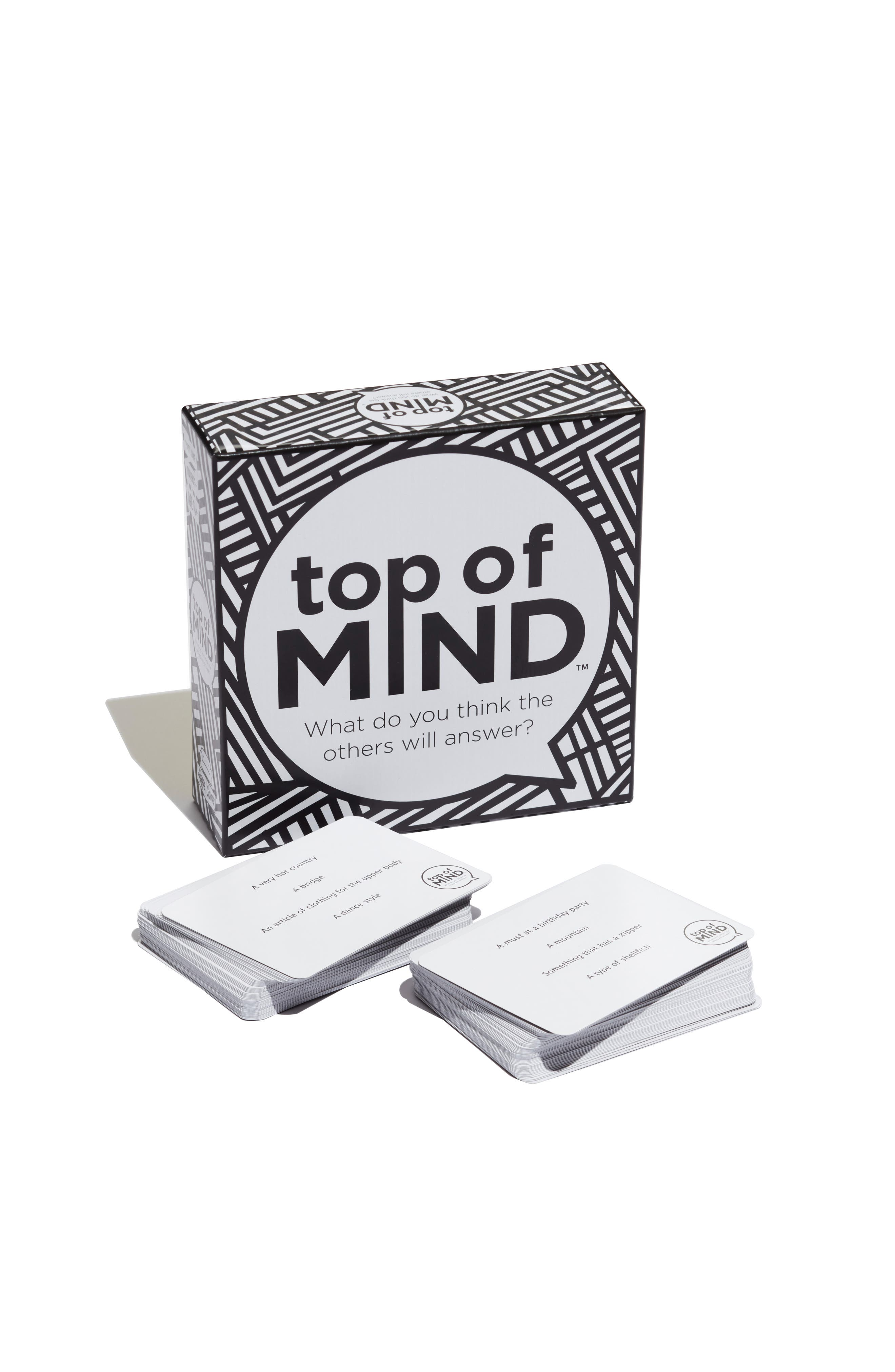 Top of Mind Trivia Game,                         Main,                         color, 001