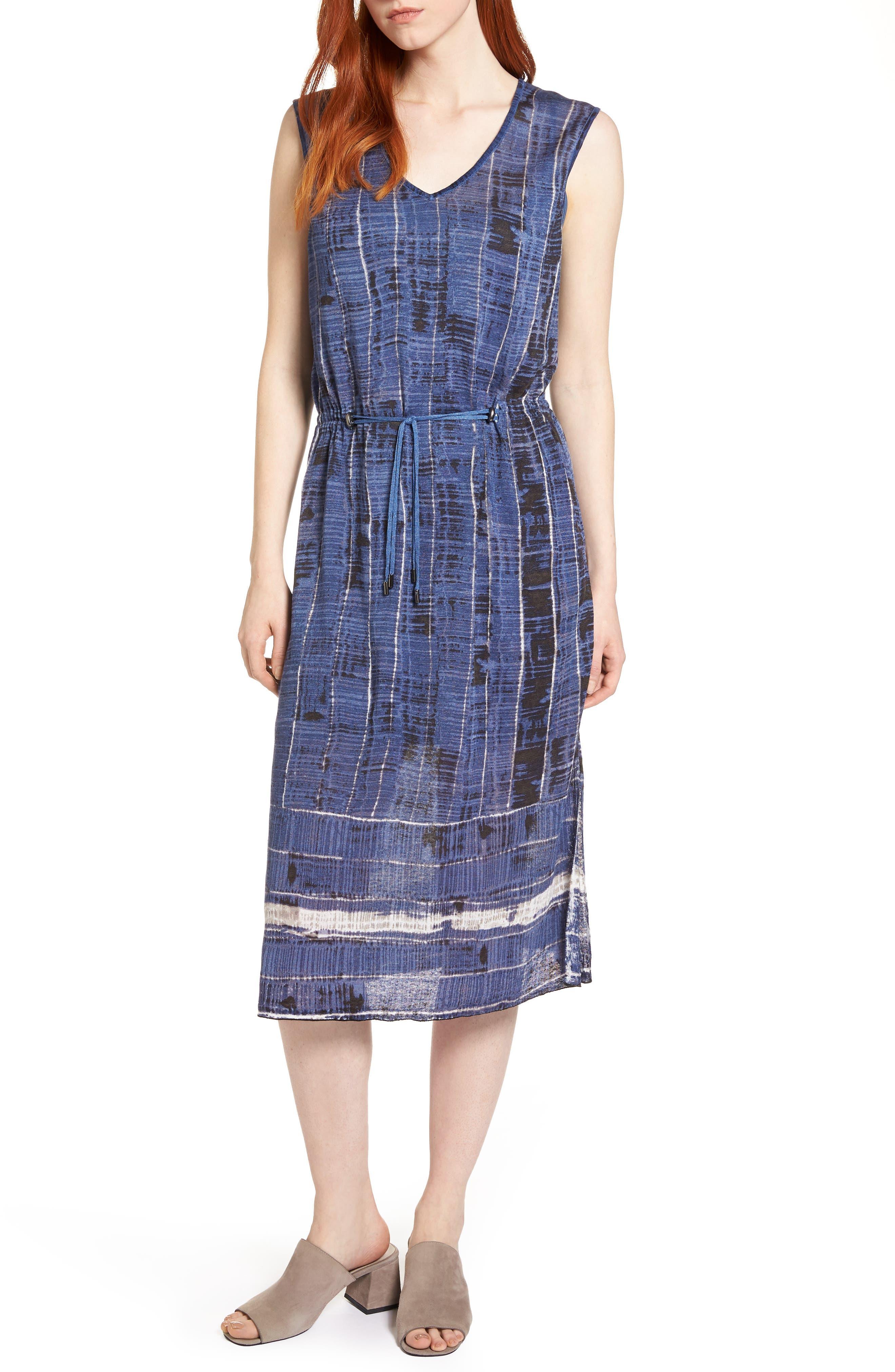 Coastline A-Line Dress,                         Main,                         color, 490