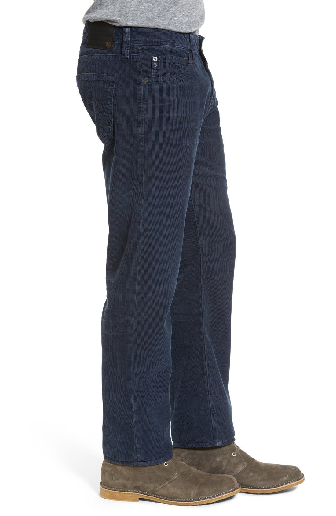 'Graduate' Tailored Straight Leg Corduroy Pants,                             Alternate thumbnail 45, color,