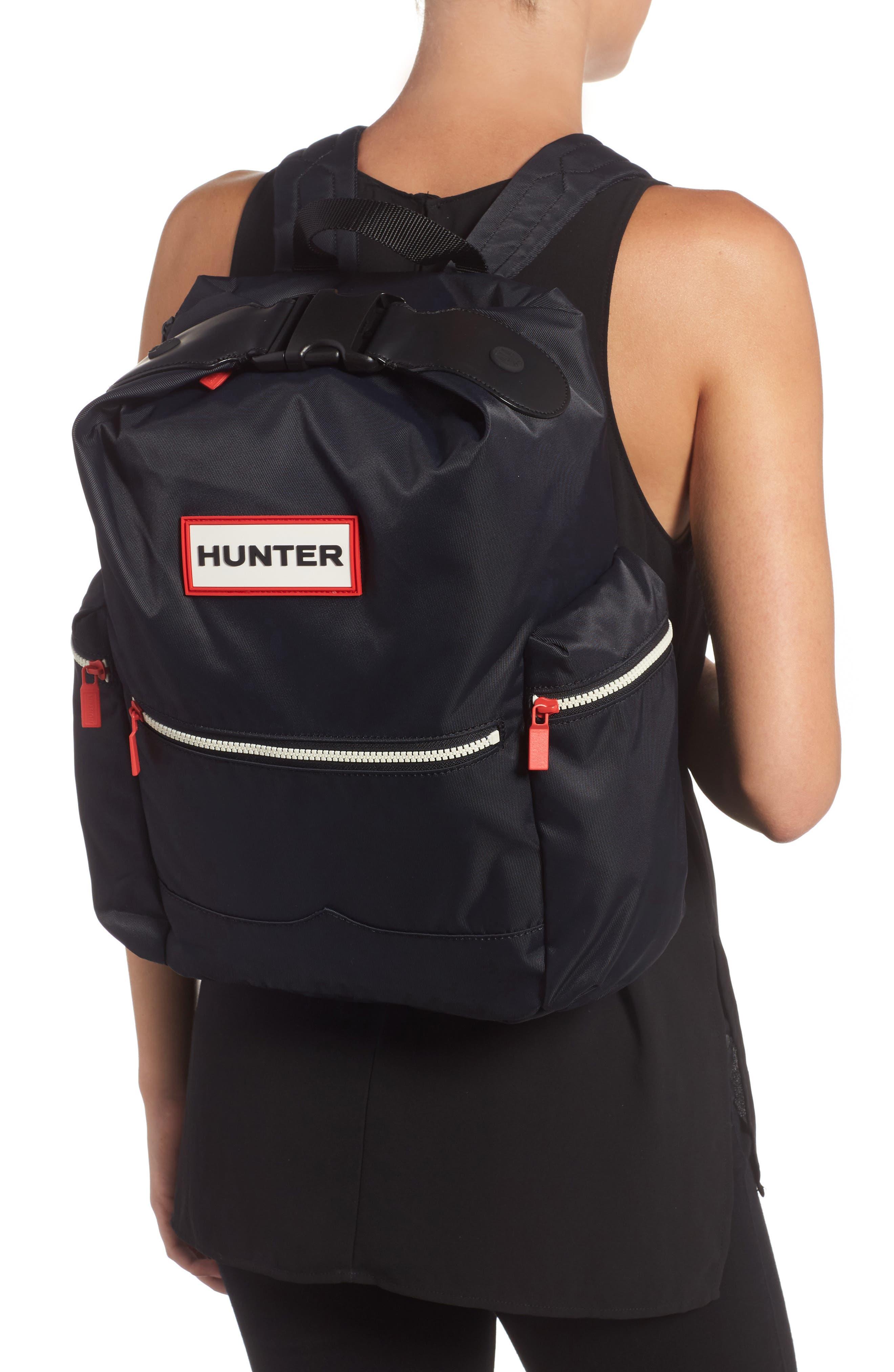 Original Top Clip Nylon Backpack,                             Alternate thumbnail 3, color,