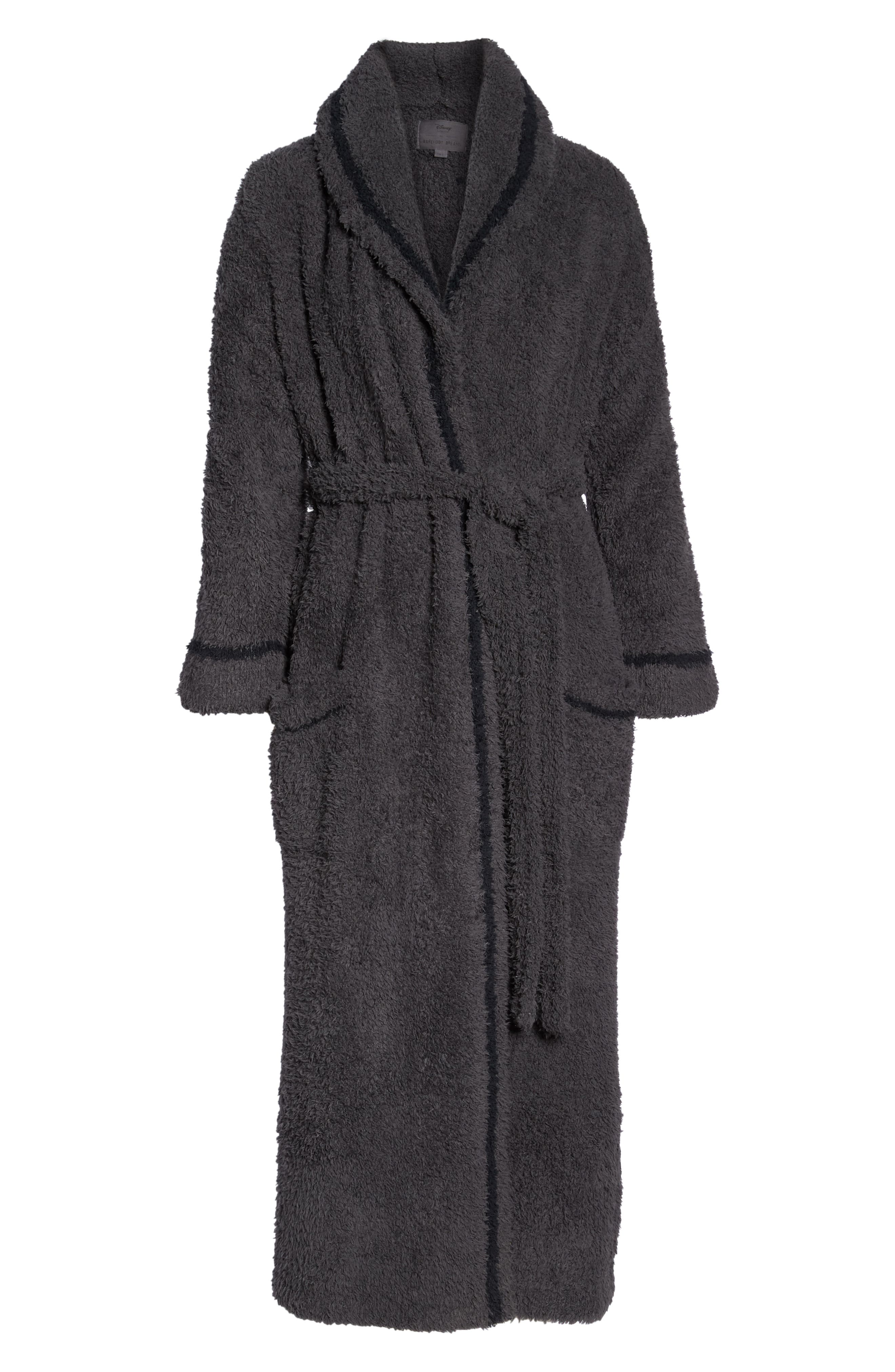 x Disney Classic Series CozyChic<sup>®</sup> Robe,                             Alternate thumbnail 6, color,                             CARBON/ BLACK