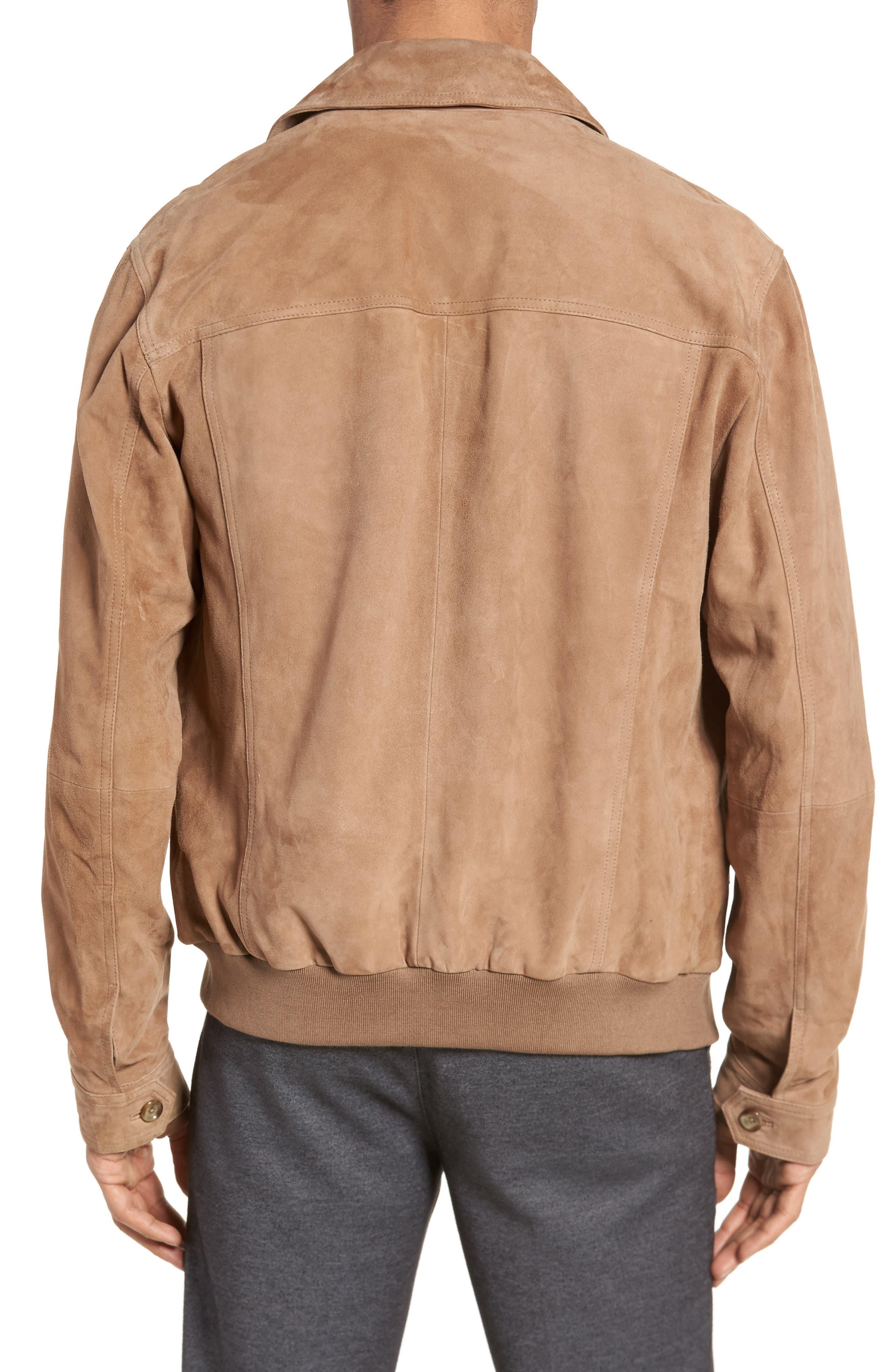 Avelan Suede Jacket,                             Alternate thumbnail 2, color,