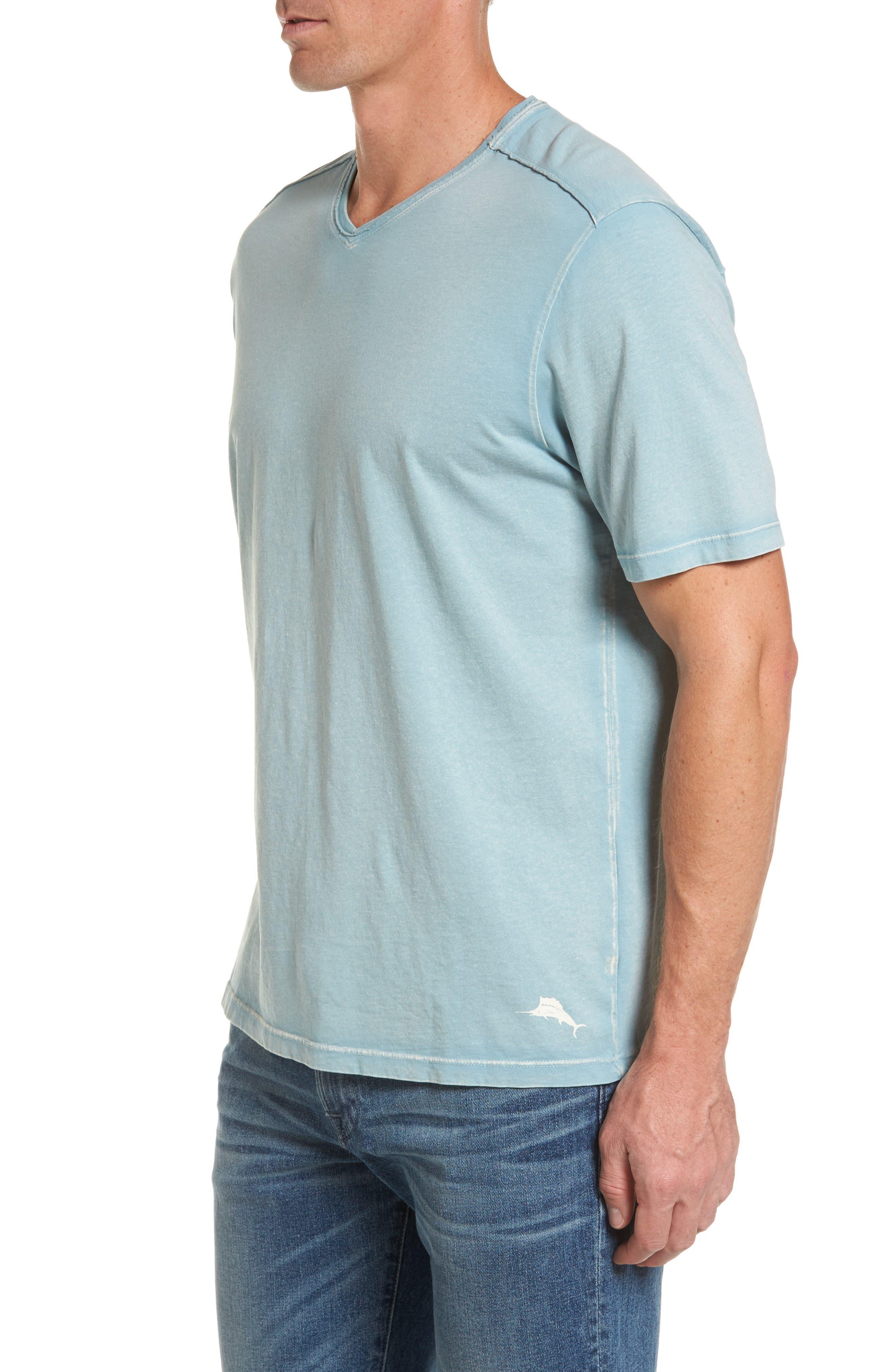 'Kahuna' V-Neck T-Shirt,                             Alternate thumbnail 3, color,                             303