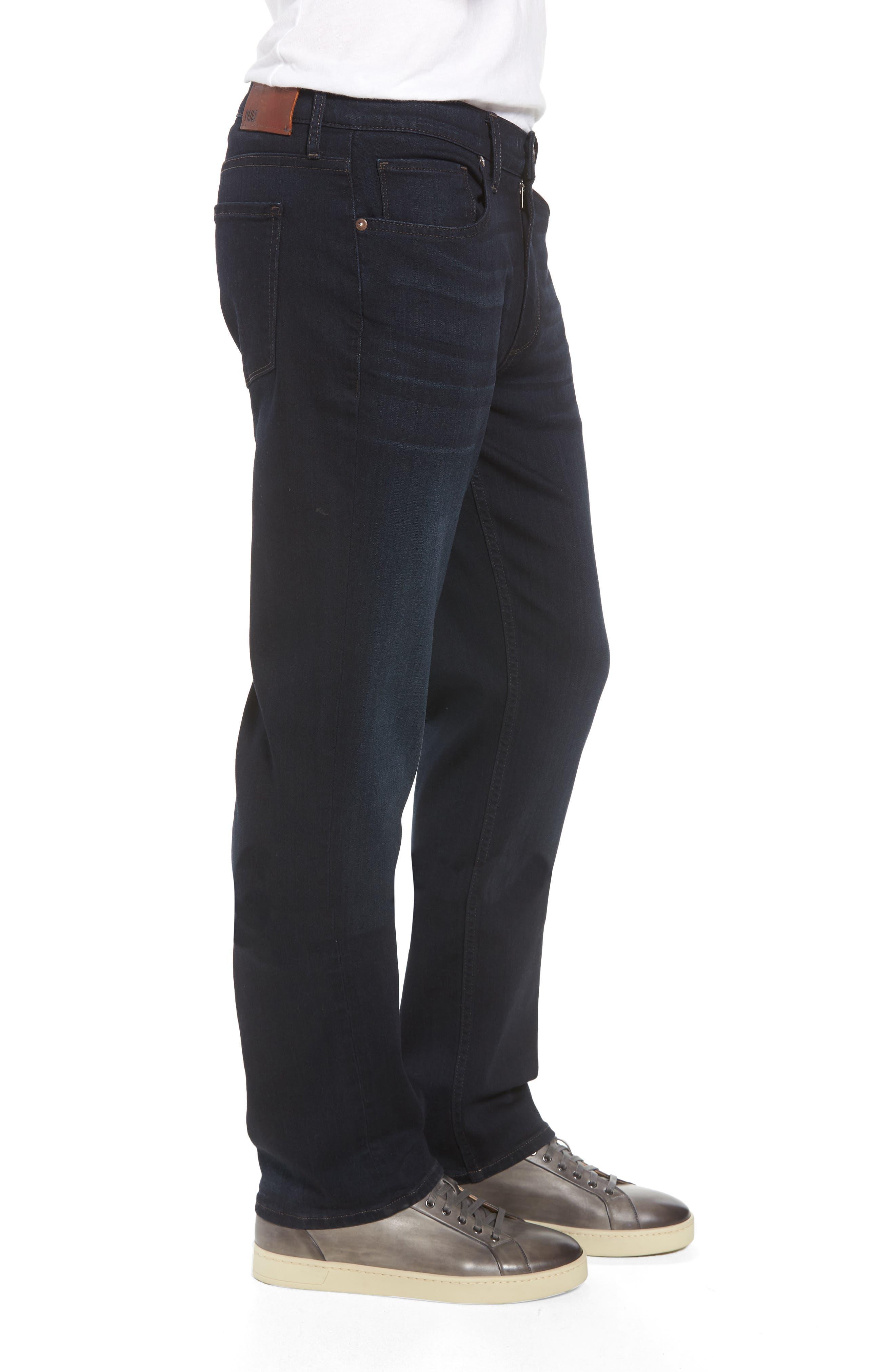 Normandie Straight Leg Jeans,                             Alternate thumbnail 3, color,                             FLEET
