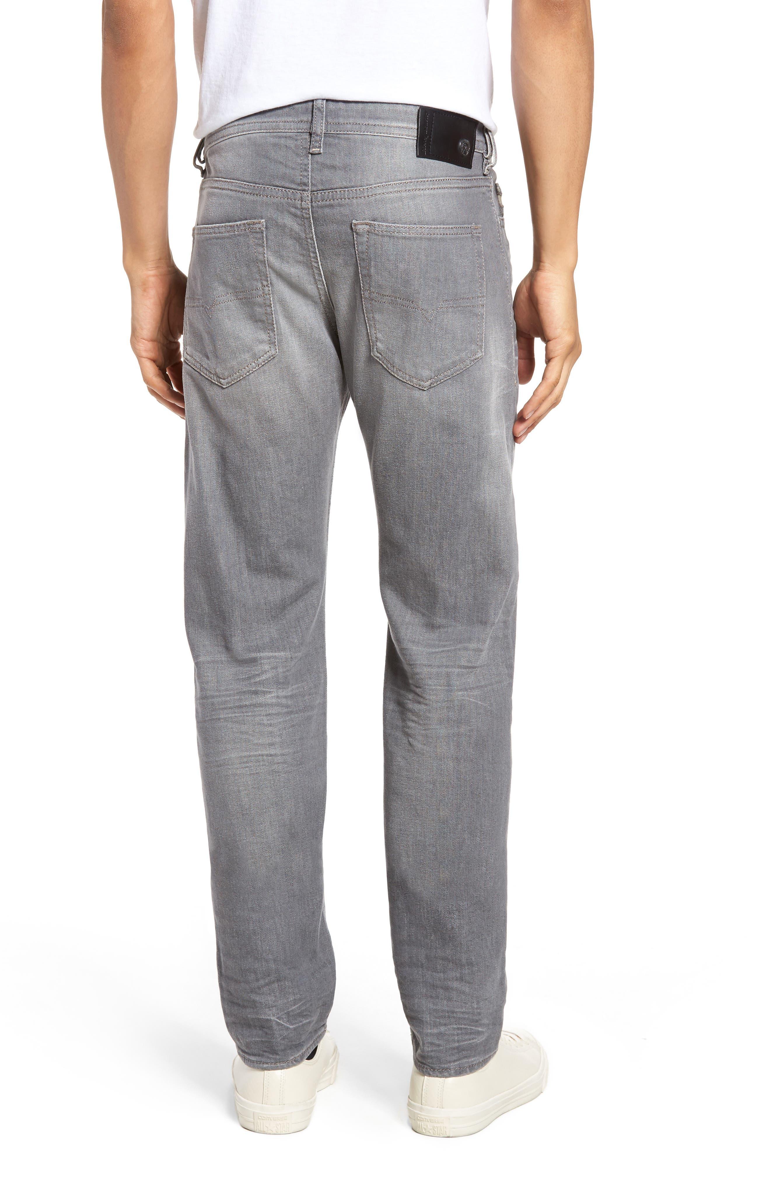 DIESEL Buster Slim Straight Leg Jeans,                             Alternate thumbnail 2, color,                             400