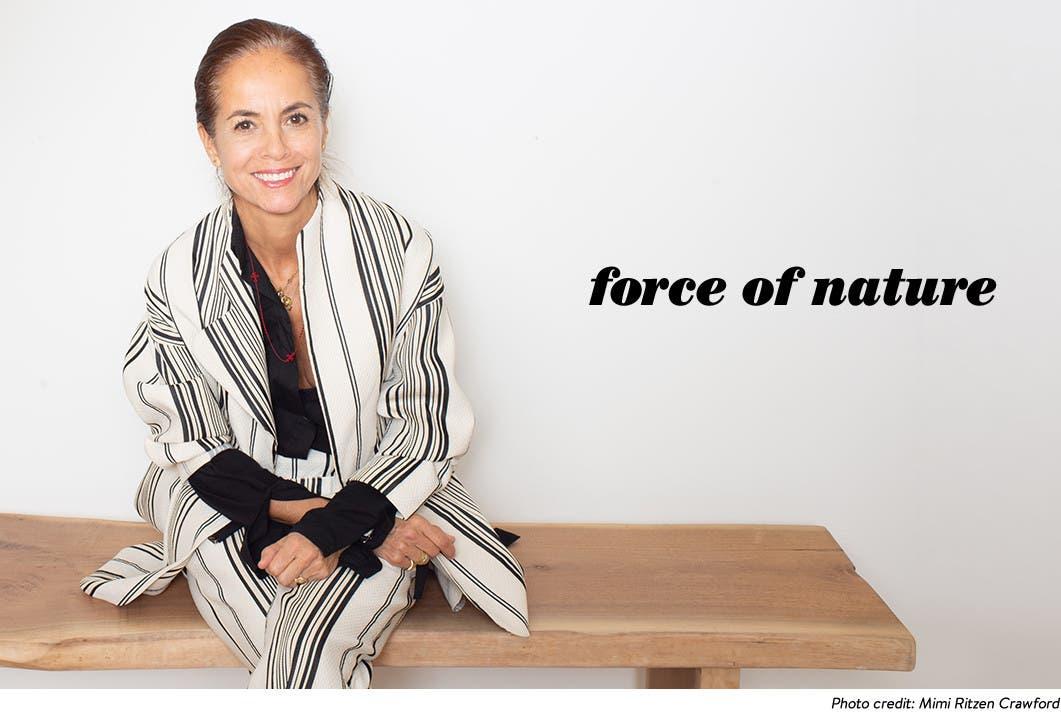Designer Maria Cornejo.