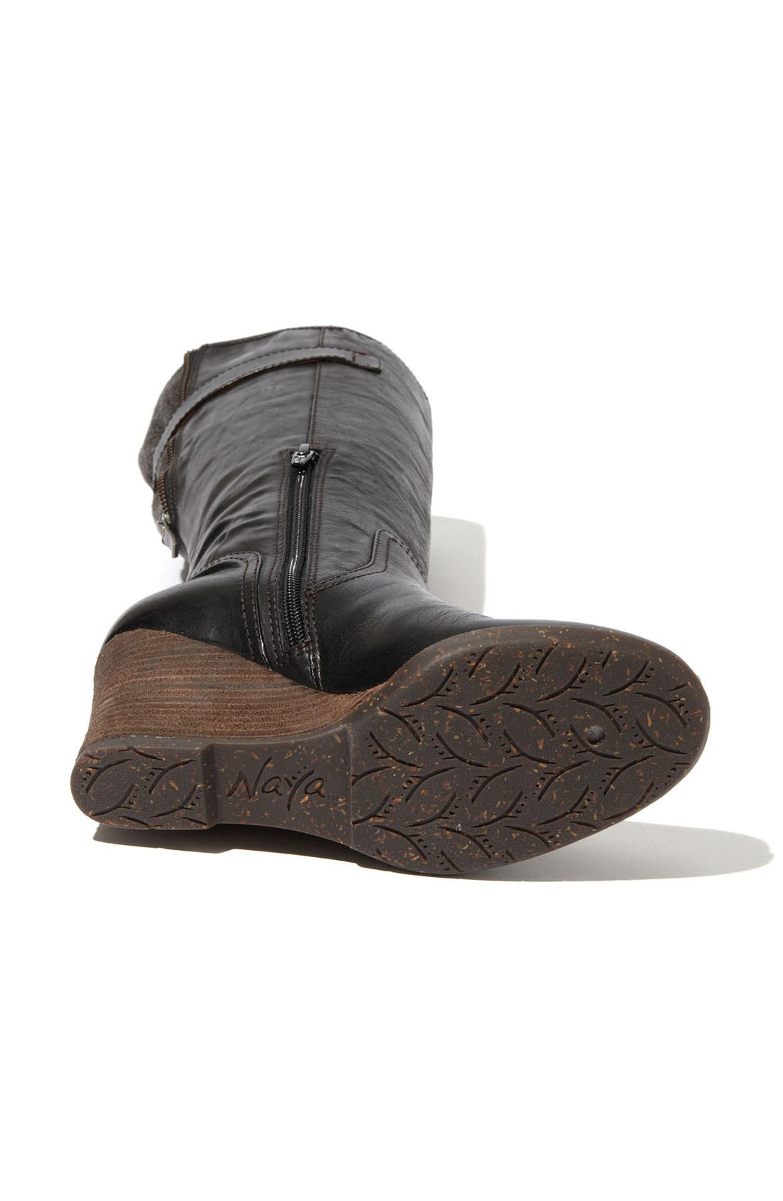 NAYA,                             'Quail' Boot,                             Alternate thumbnail 3, color,                             001