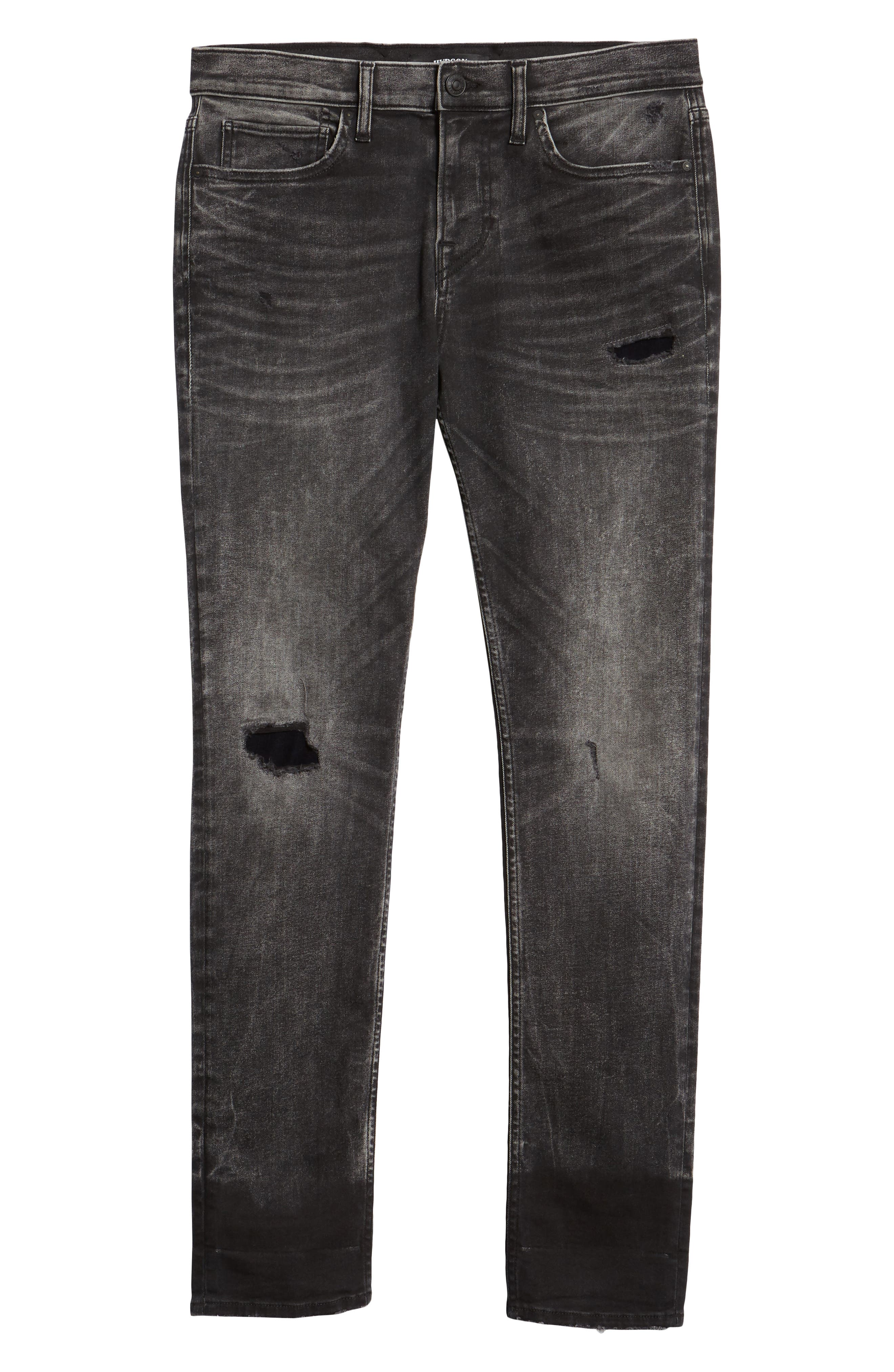 HUDSON JEANS,                             Axl Skinny Fit Jeans,                             Alternate thumbnail 6, color,                             DELUXE
