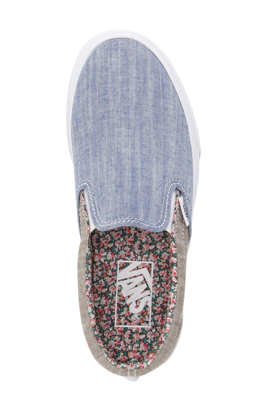 Classic Slip-On Sneaker,                             Alternate thumbnail 244, color,