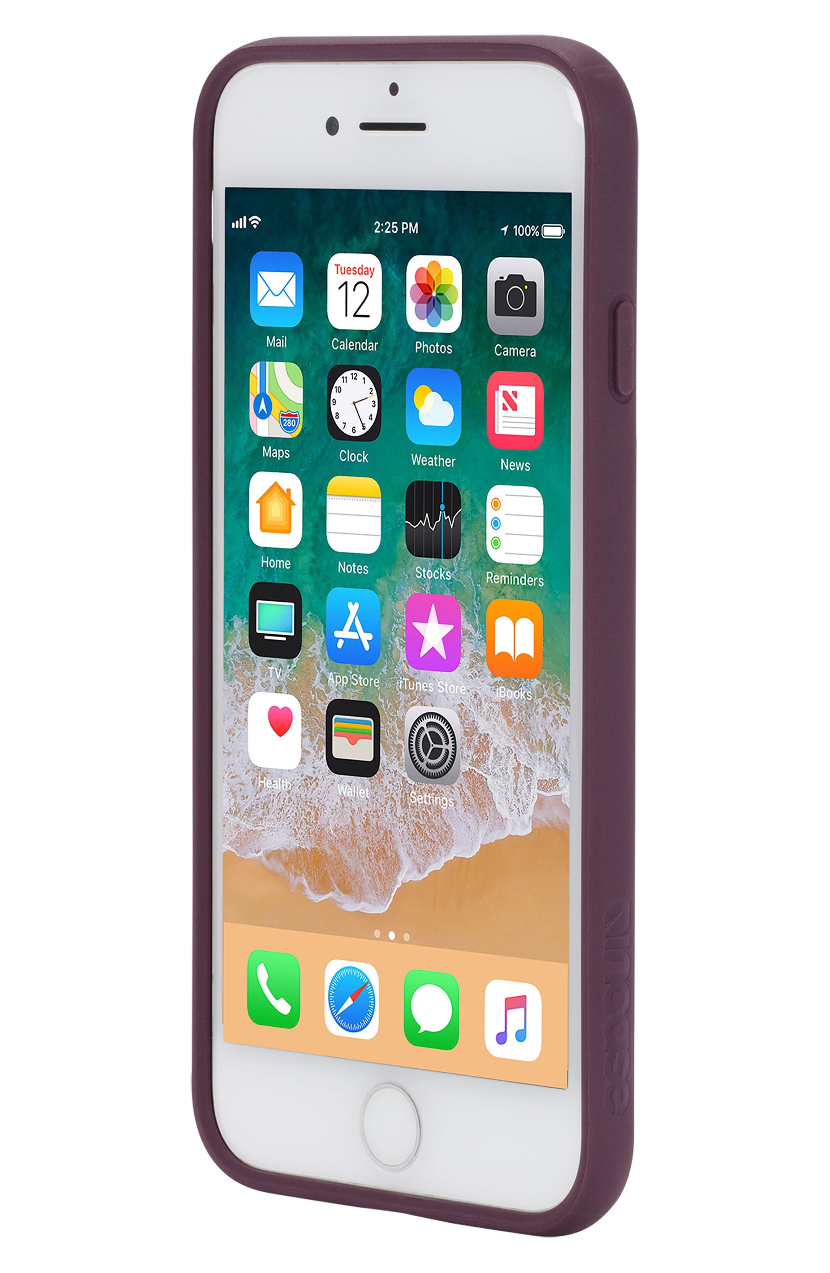 Pop iPhone 7/8 Case,                             Alternate thumbnail 5, color,                             BERRY