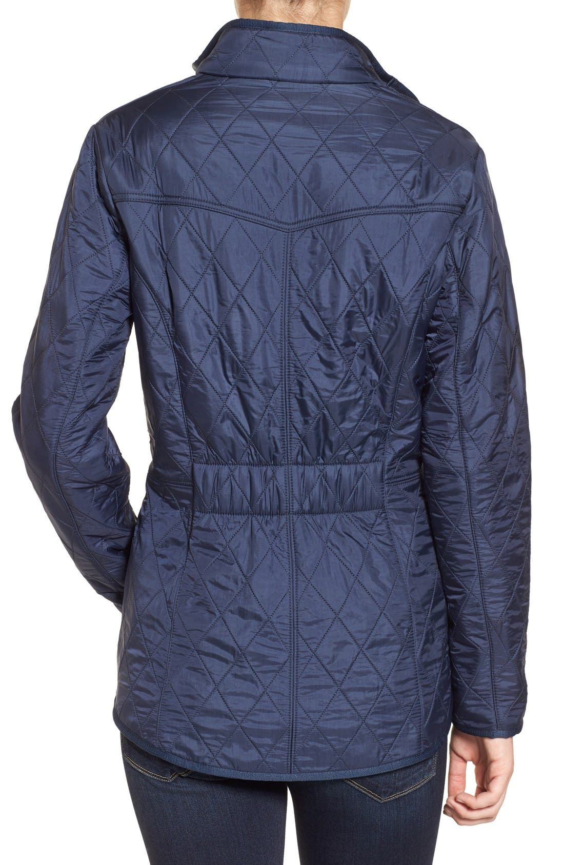 'Cavalry' Quilted Jacket,                             Alternate thumbnail 22, color,