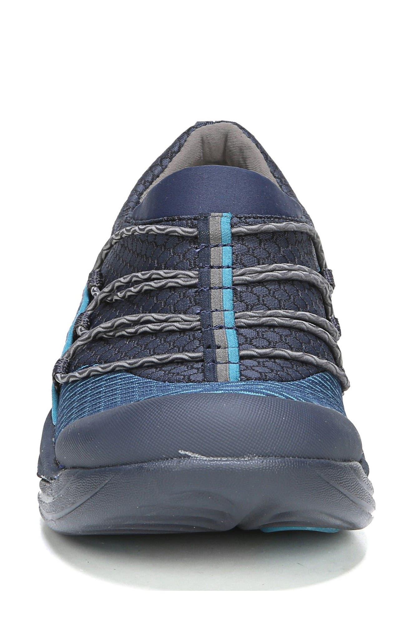 Pisces Slip-On Sneaker,                             Alternate thumbnail 4, color,                             NAVY