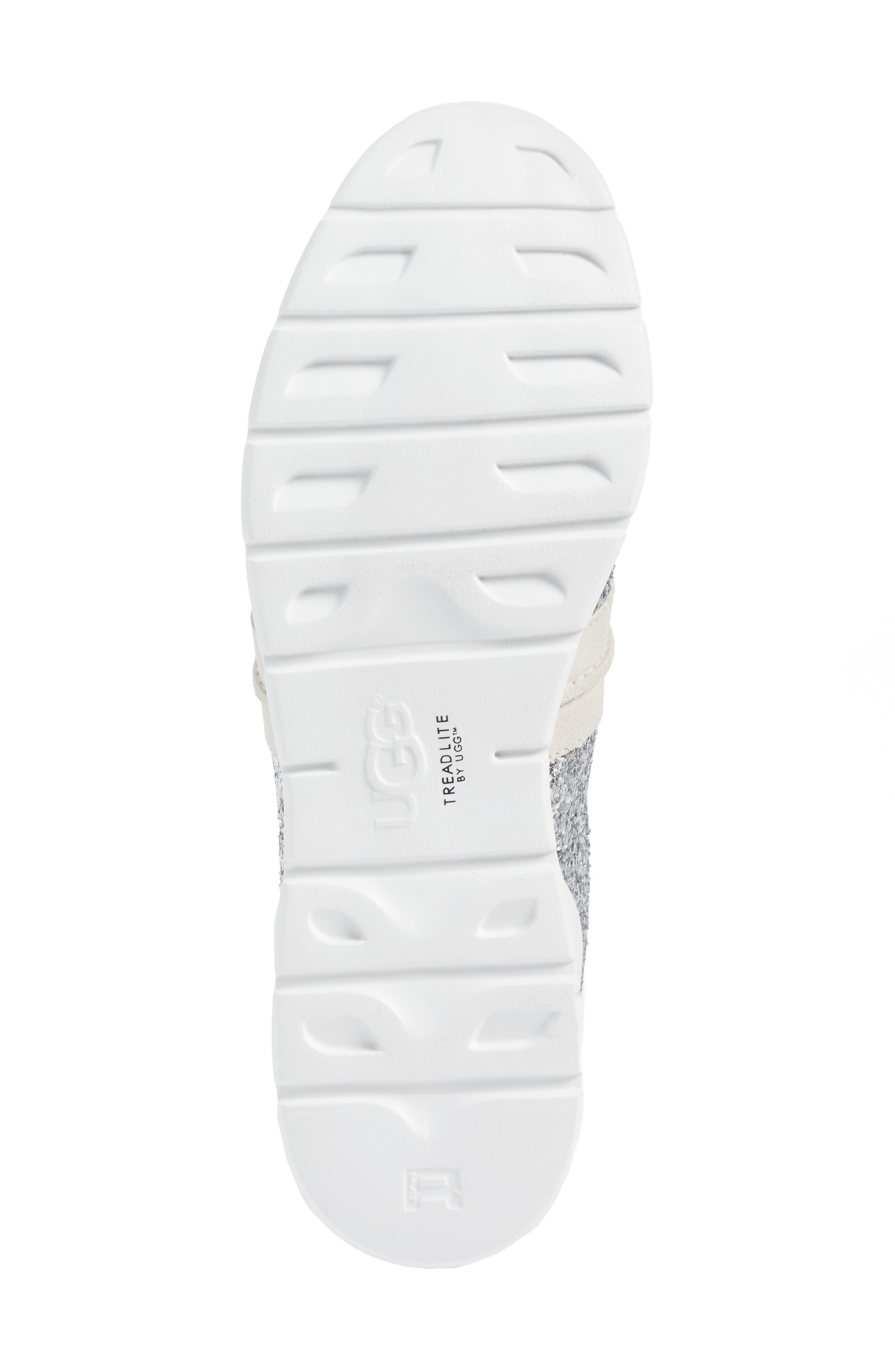 Jaida Glitter Sneaker,                             Alternate thumbnail 6, color,                             040