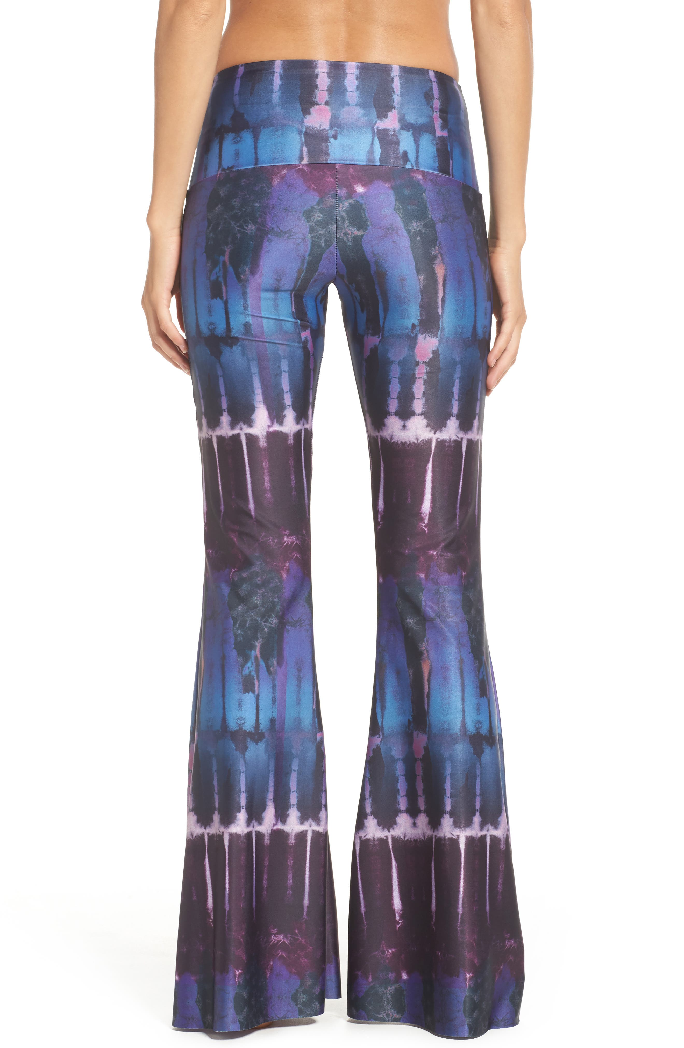 Flare Leg Yoga Pants,                             Alternate thumbnail 9, color,
